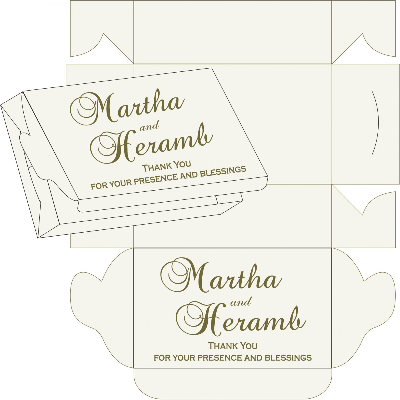 Sweet Boxes : CSB-5015I - IndianWeddingCards