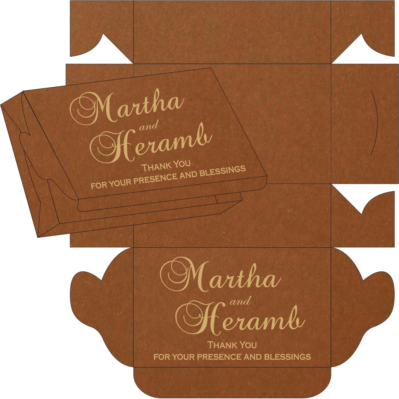 Sweet Boxes : CSB-5016C - IndianWeddingCards