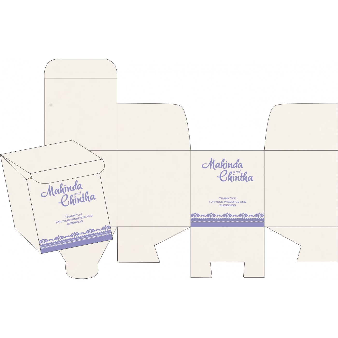 Sweet Boxes : CSB-8205F - IndianWeddingCards