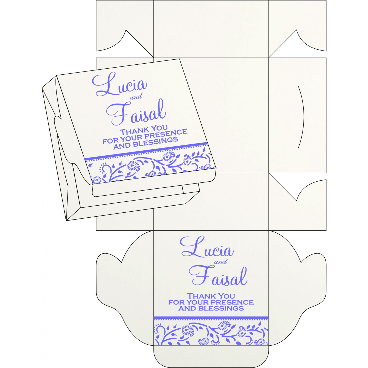Sweet Boxes : CSB-8206A - IndianWeddingCards