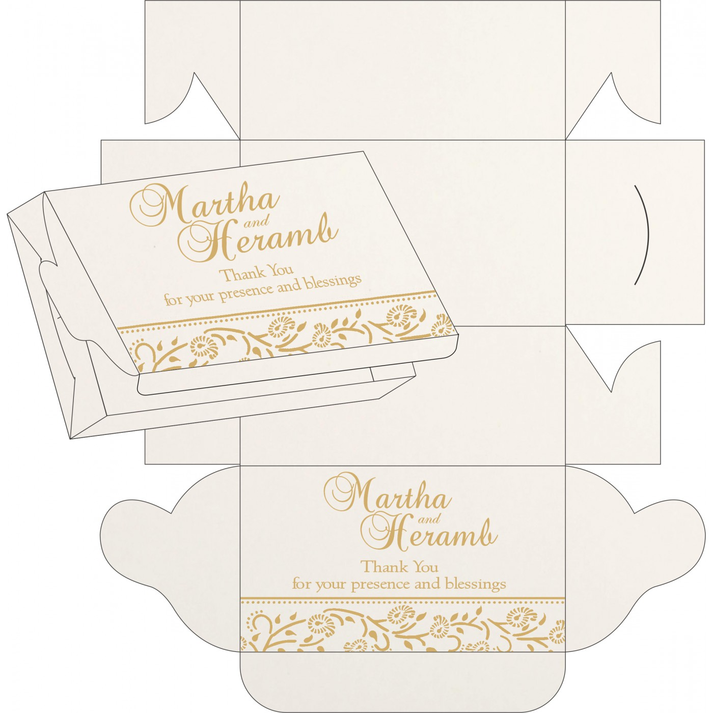 Sweet Boxes : CSB 8206D