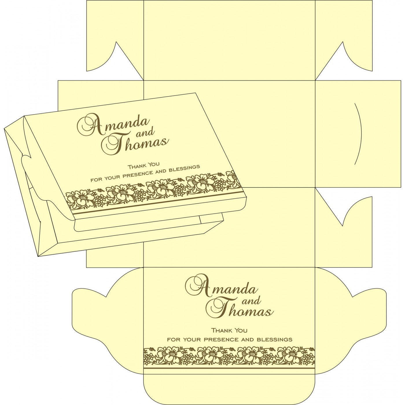 Sweet Boxes : CSB-8207H - IndianWeddingCards