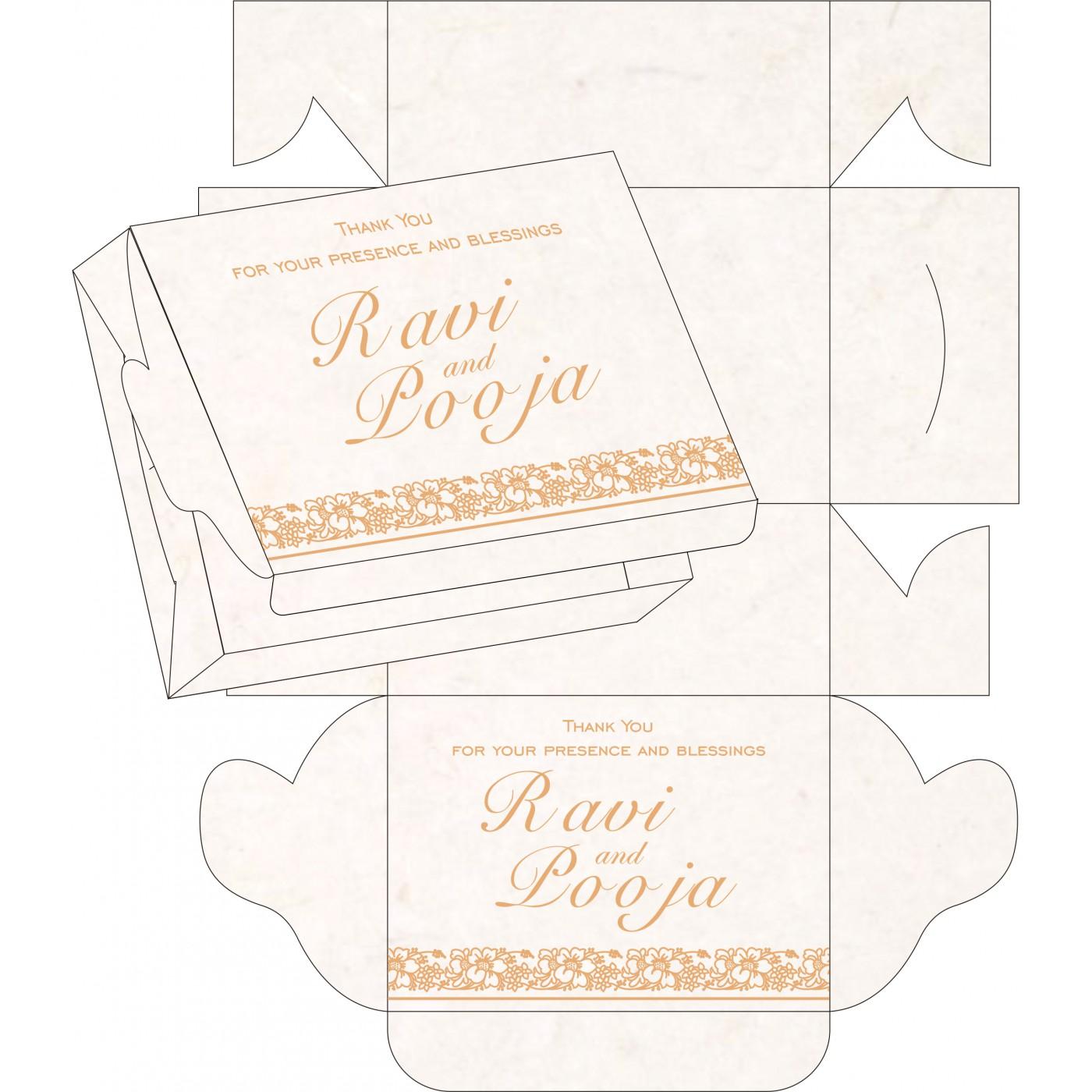 Sweet Boxes : CSB-8207I - IndianWeddingCards