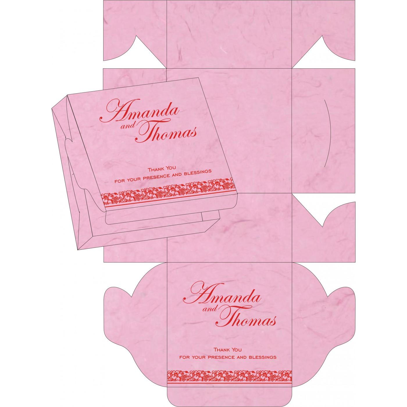 Sweet Boxes : CSB-8207K - IndianWeddingCards