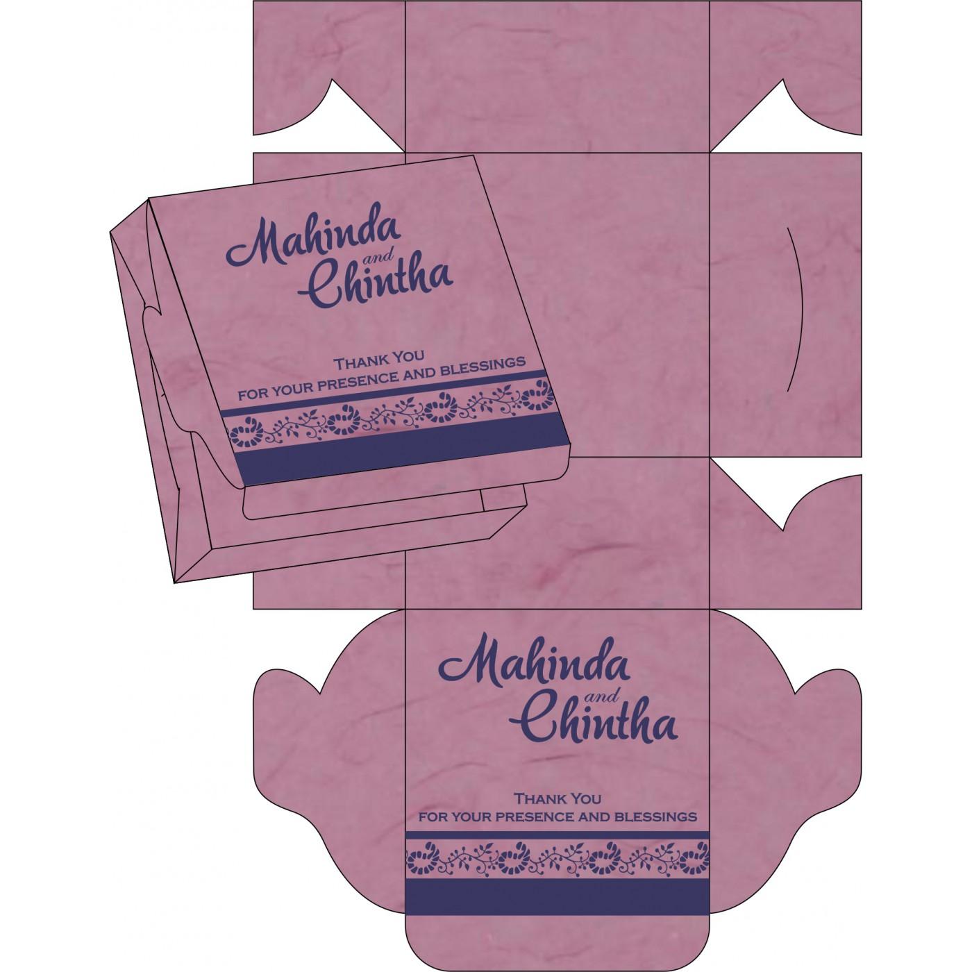 Sweet Boxes : CSB-8208J - IndianWeddingCards