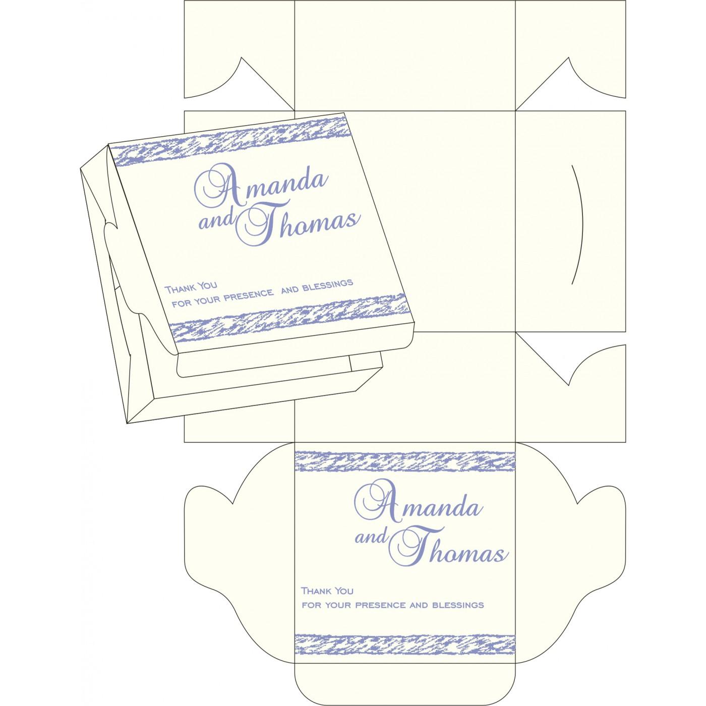 Sweet Boxes : CSB-8209C - IndianWeddingCards