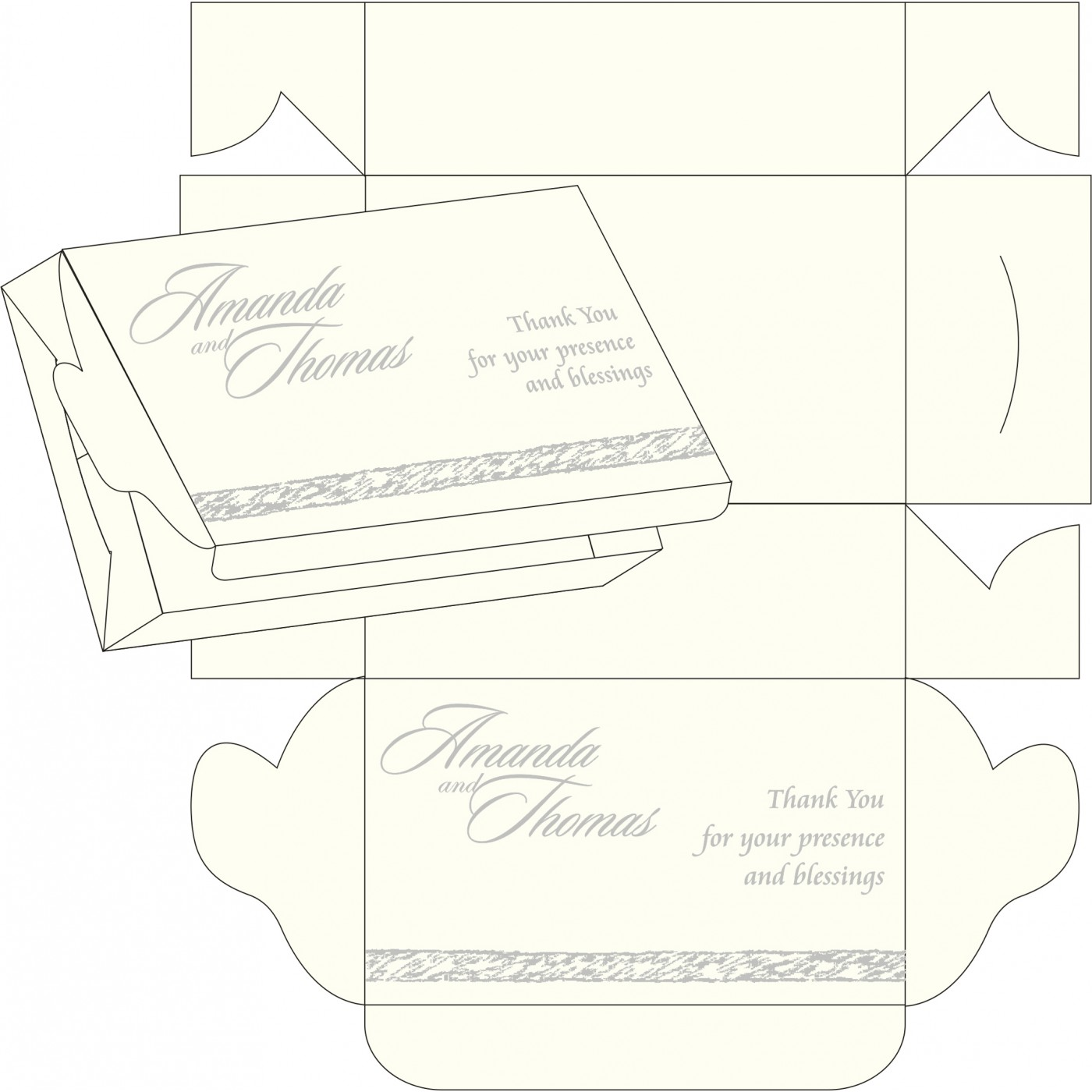 Sweet Boxes : CSB-8209H - IndianWeddingCards