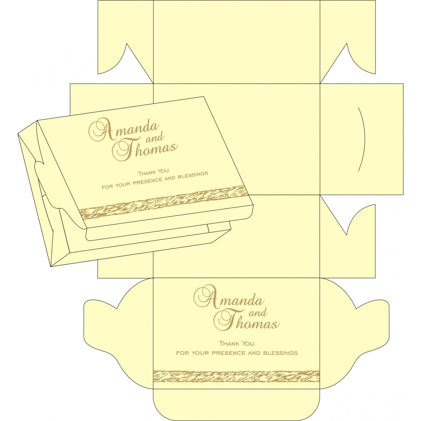 Sweet Boxes : CSB-8209I - IndianWeddingCards