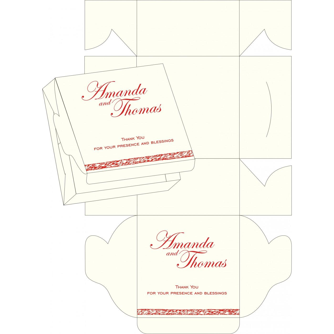 Sweet Boxes : CSB-8209N - IndianWeddingCards