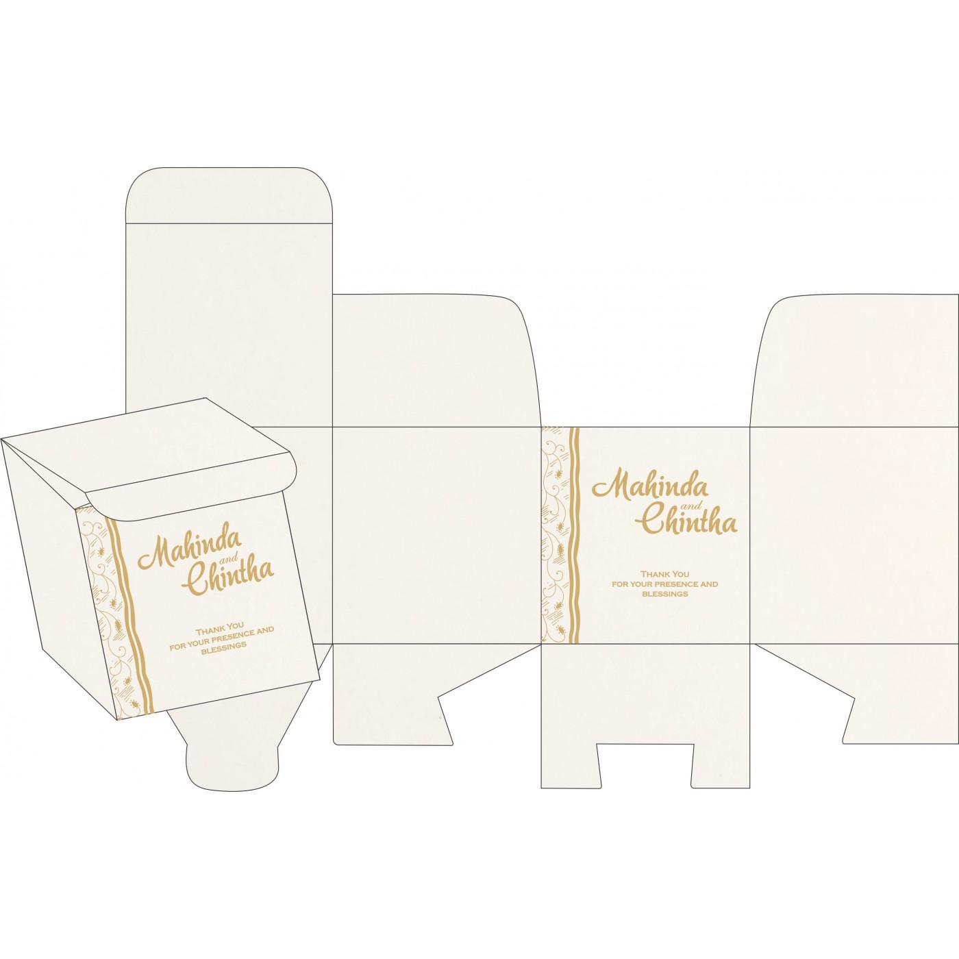 Sweet Boxes : CSB-8210F - IndianWeddingCards