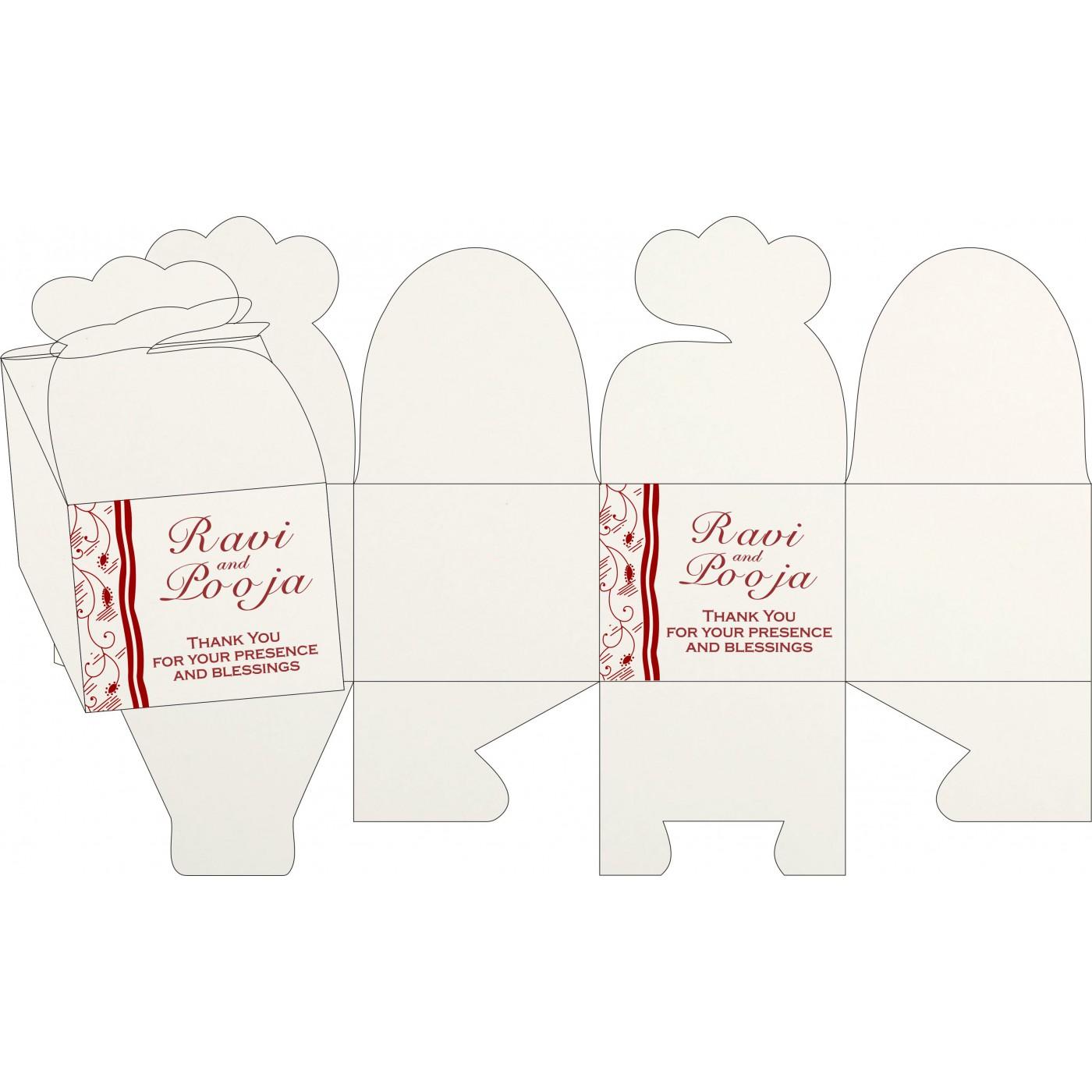Sweet Boxes : CSB-8210J - IndianWeddingCards