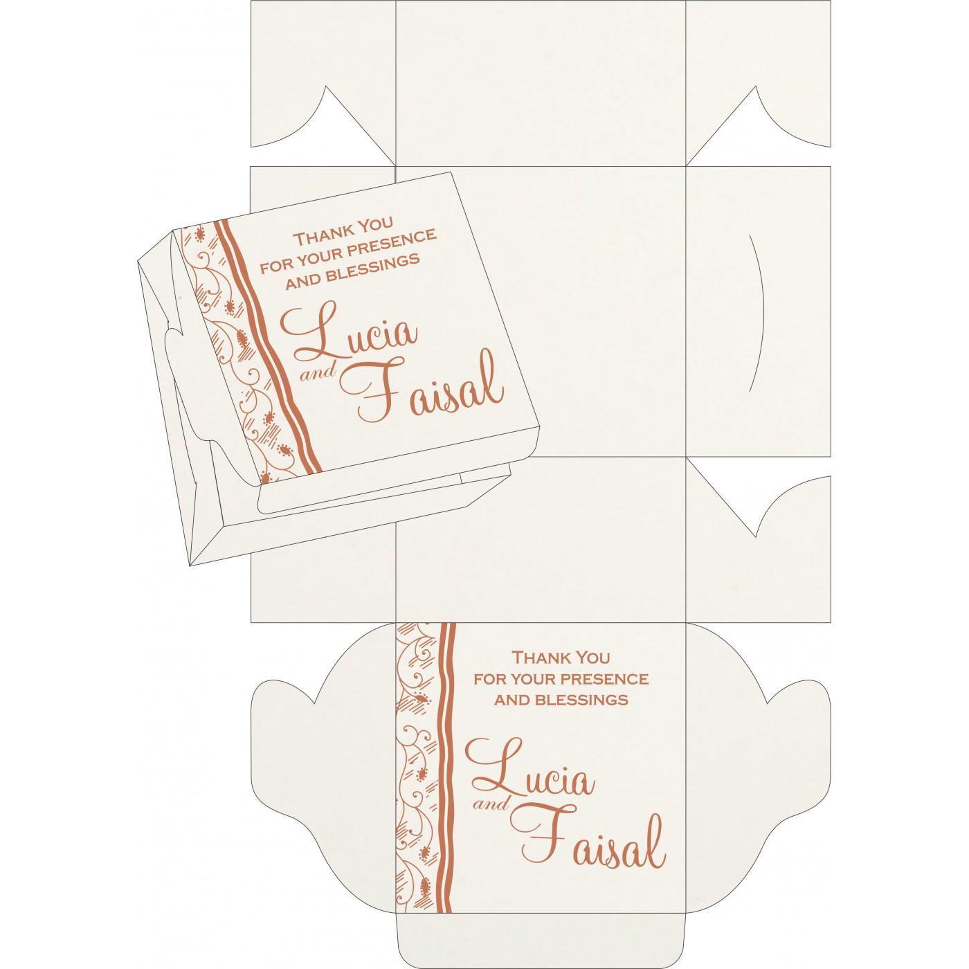 Sweet Boxes : CSB-8210M - IndianWeddingCards