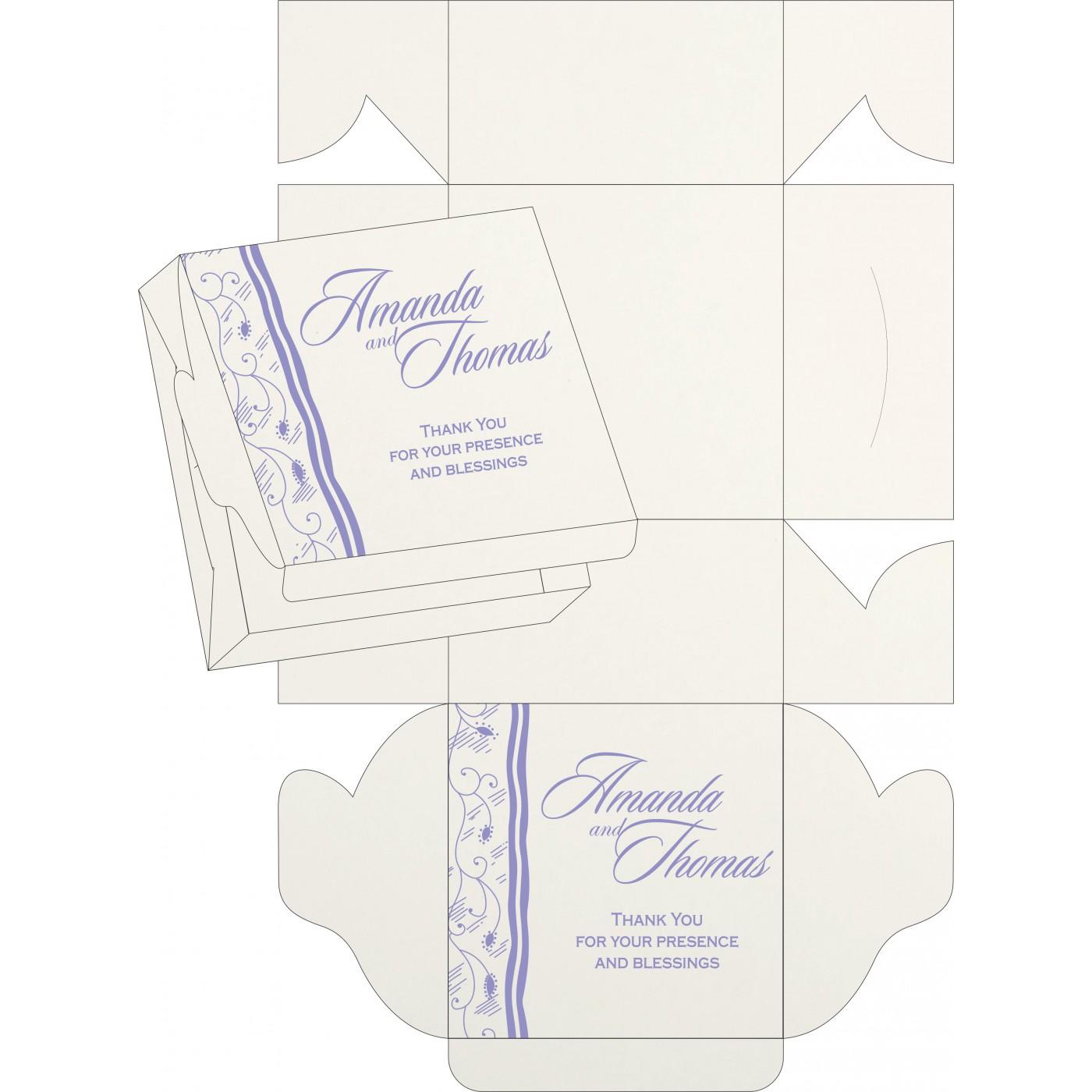Sweet Boxes : CSB-8210N - IndianWeddingCards