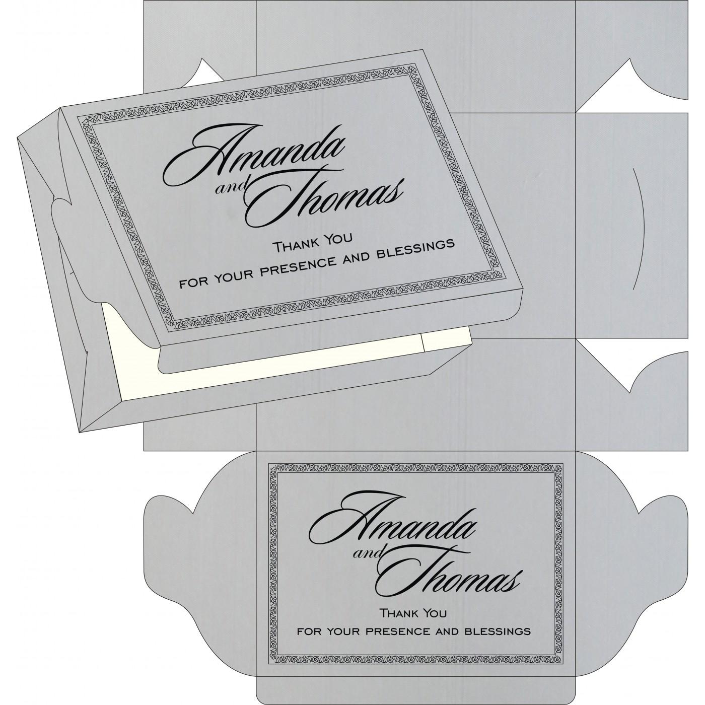 Sweet Boxes : CSB-8211B - IndianWeddingCards