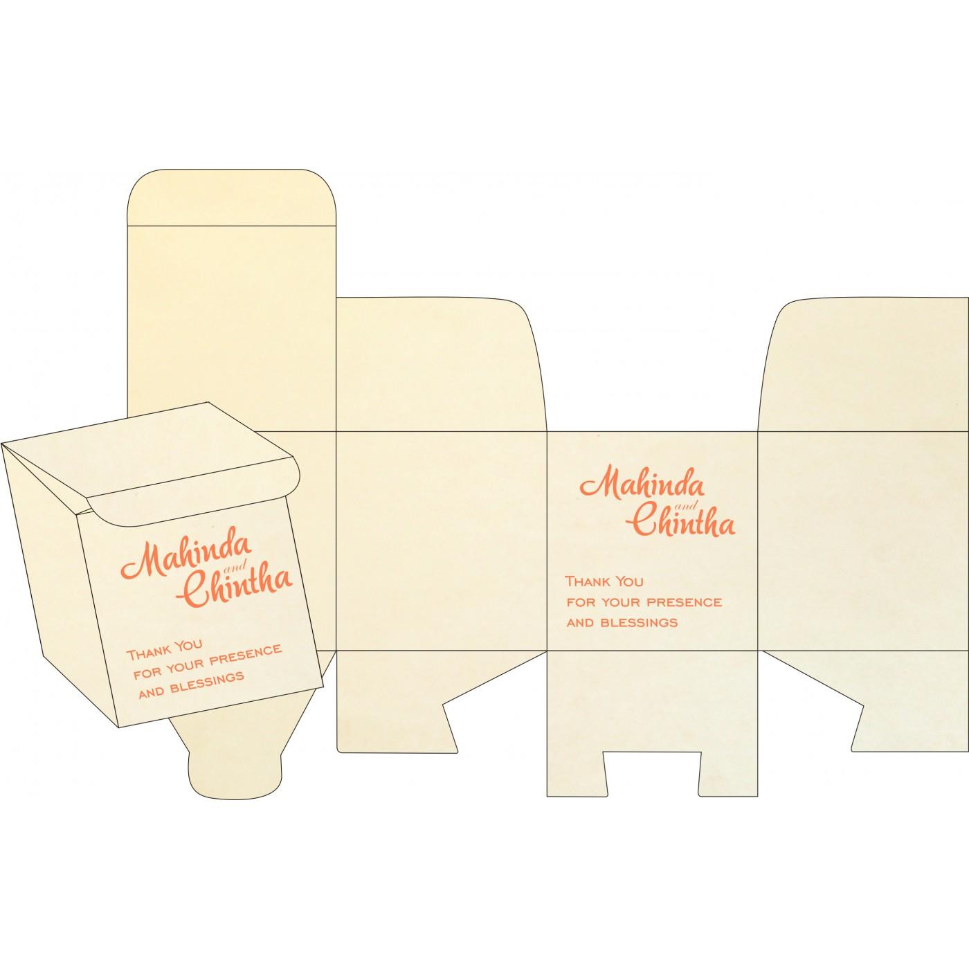 Sweet Boxes : CSB-8211F - IndianWeddingCards