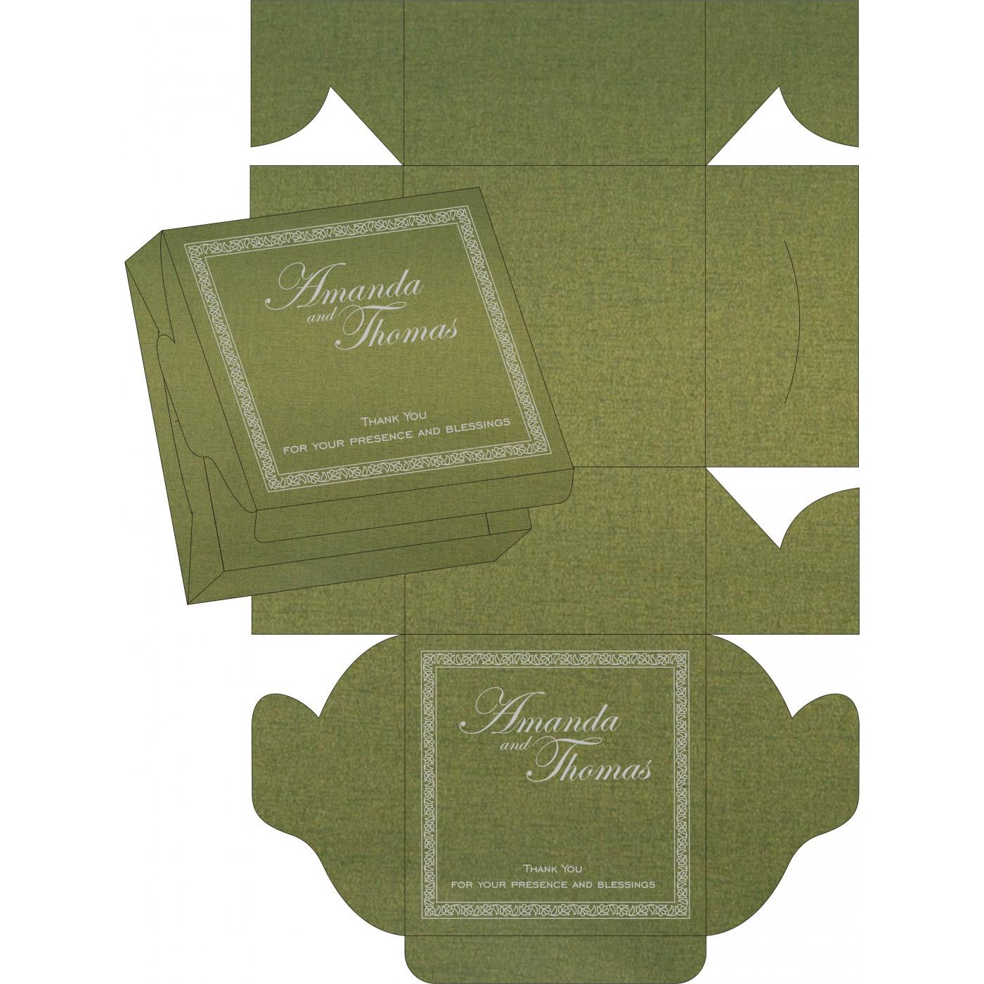 Sweet Boxes : CSB-8211M - IndianWeddingCards