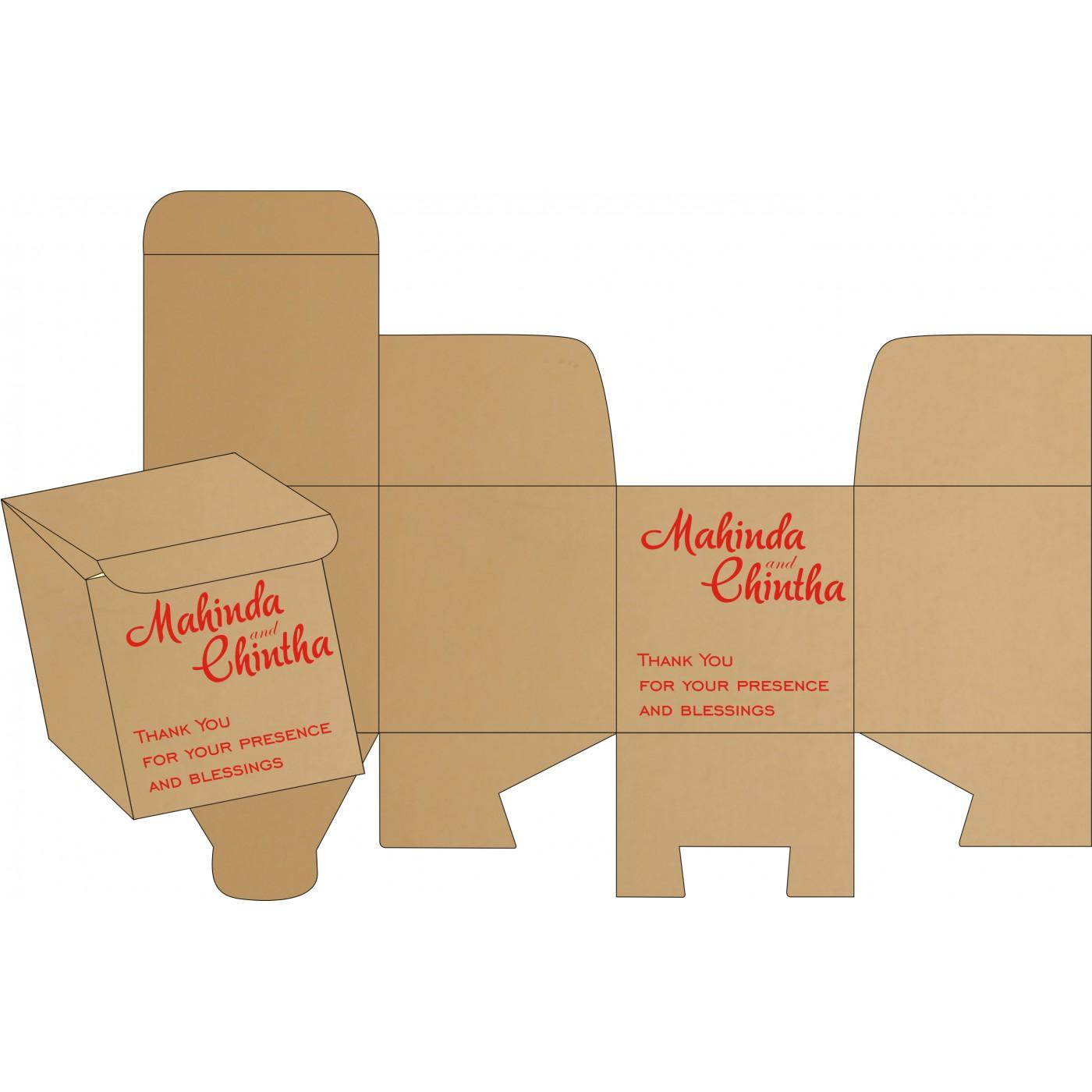 Sweet Boxes : CSB-8214F - IndianWeddingCards