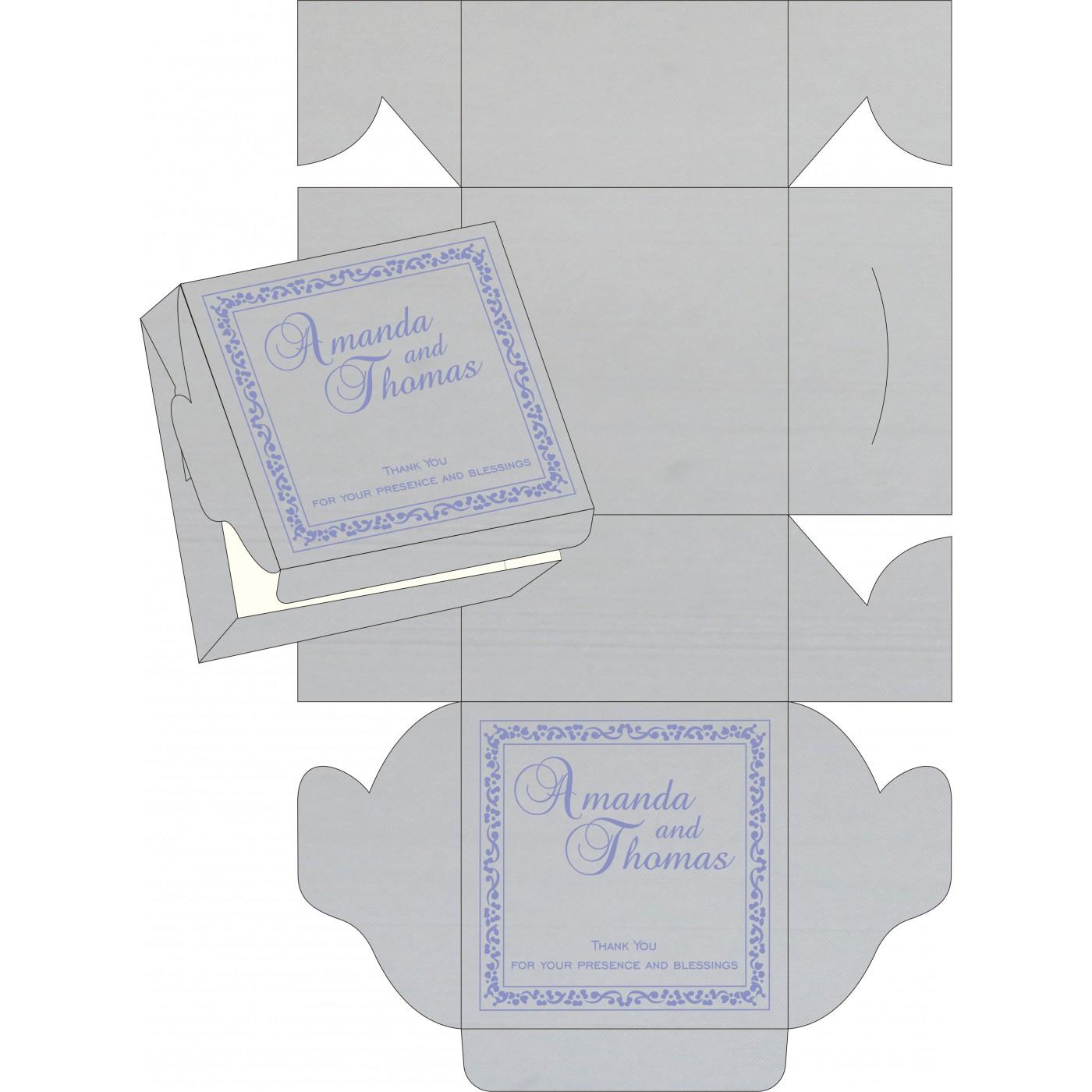 Sweet Boxes : CSB-8214O - IndianWeddingCards