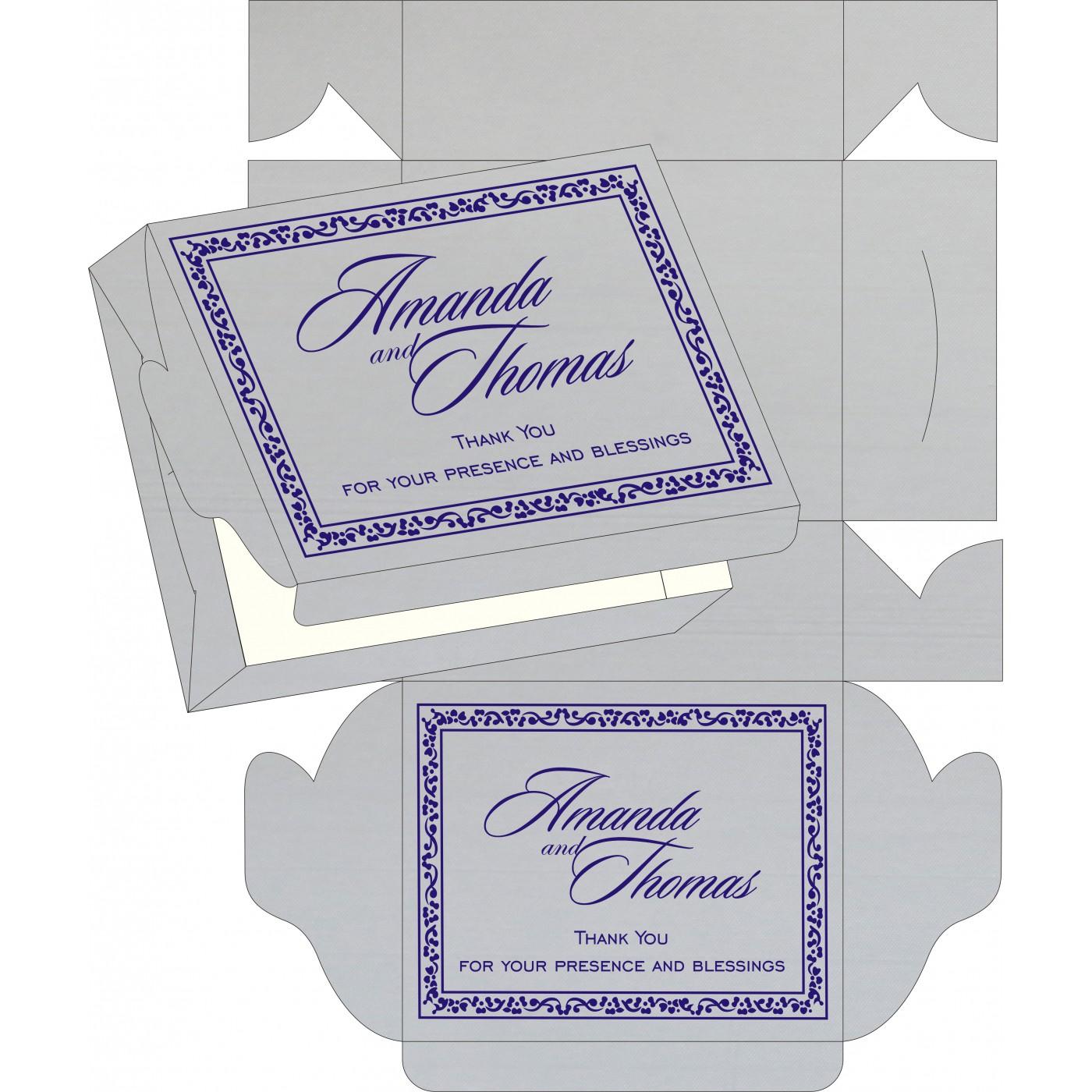 Sweet Boxes : CSB-8214Q - IndianWeddingCards