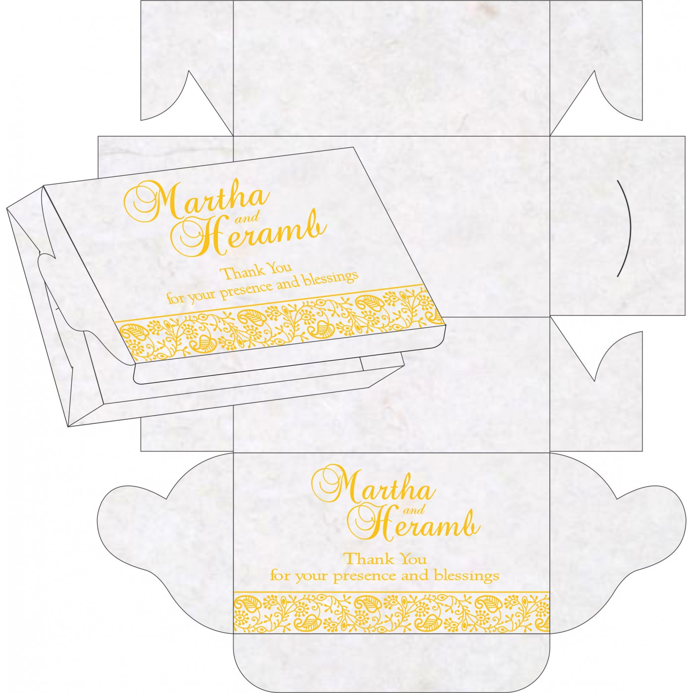 Sweet Boxes : CSB-8215H - IndianWeddingCards