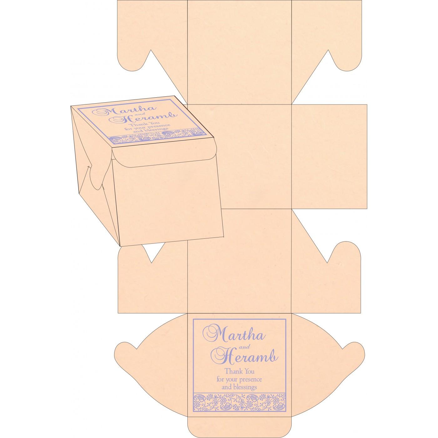 Sweet Boxes : CSB-8215M - IndianWeddingCards