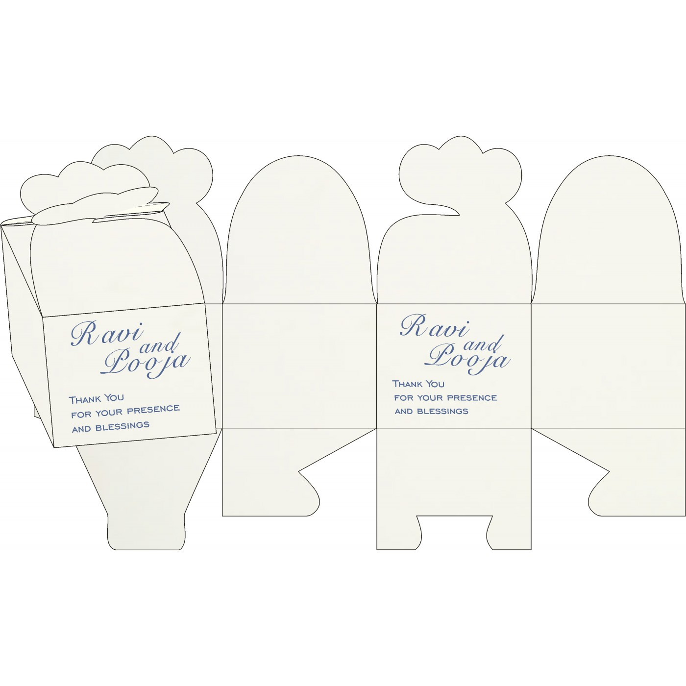 Sweet Boxes : CSB-8216D - IndianWeddingCards