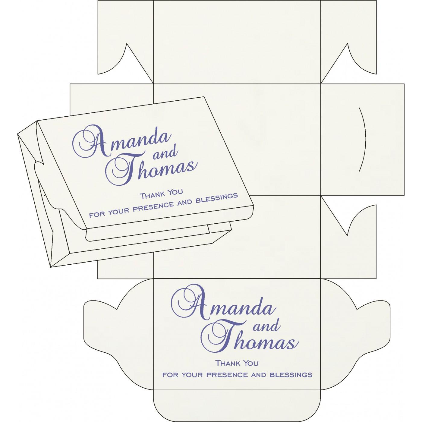 Sweet Boxes : CSB-8216I - IndianWeddingCards