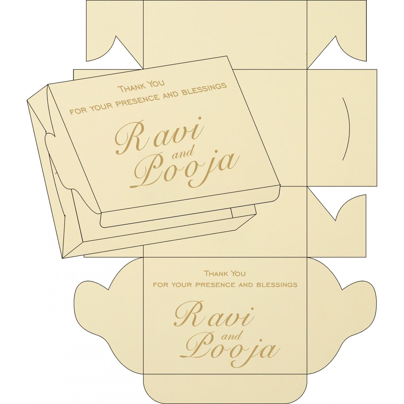 Sweet Boxes : CSB-8216J - IndianWeddingCards