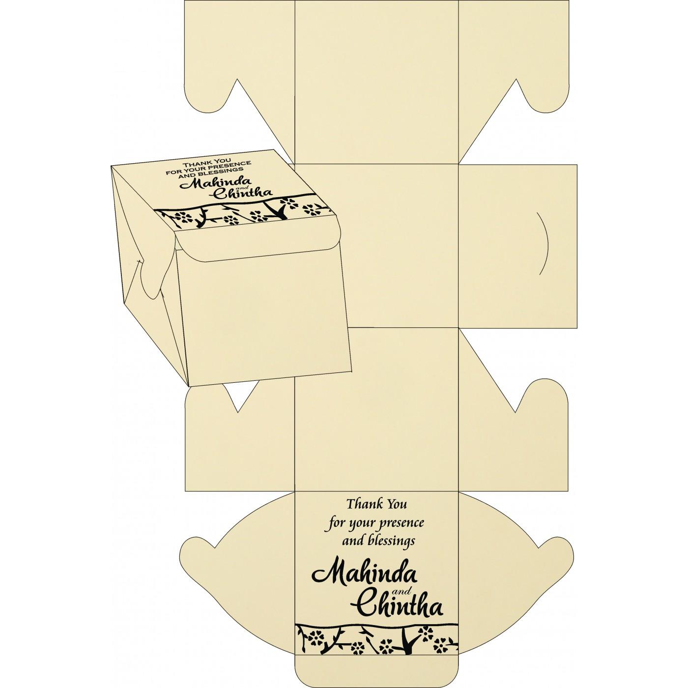 Sweet Boxes : CSB-8216K - IndianWeddingCards