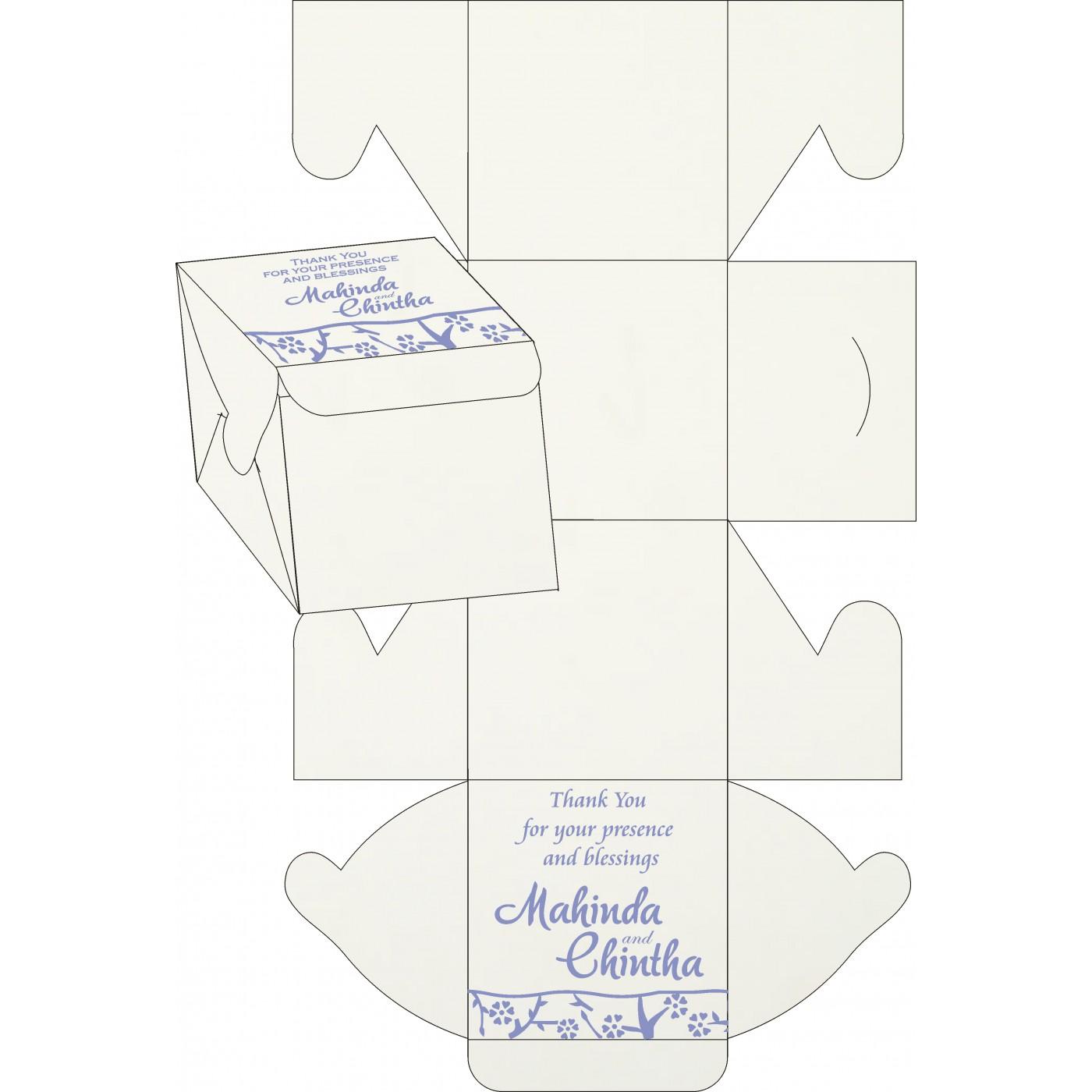 Sweet Boxes : CSB-8216Q - IndianWeddingCards