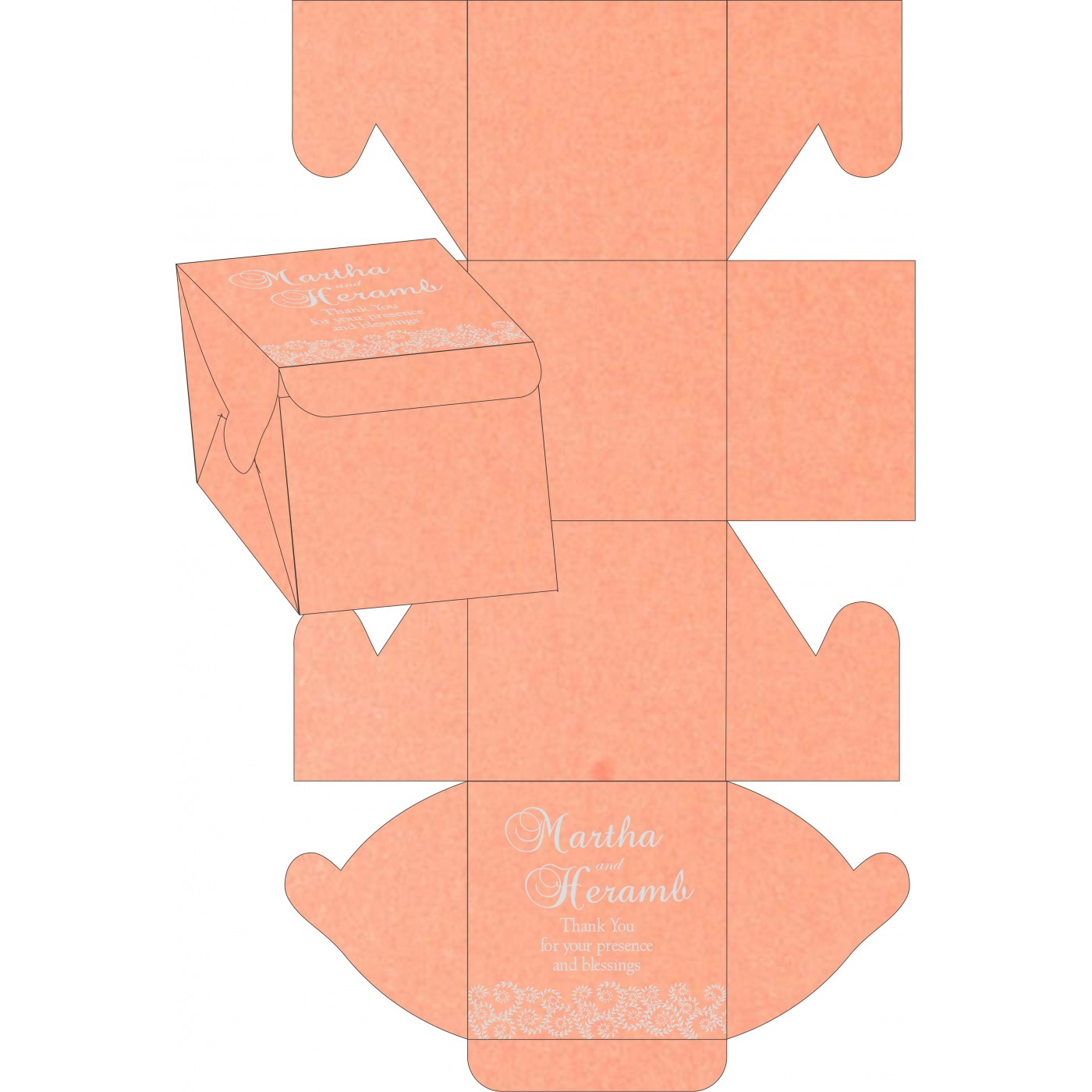 Sweet Boxes : CSB-8217E - IndianWeddingCards