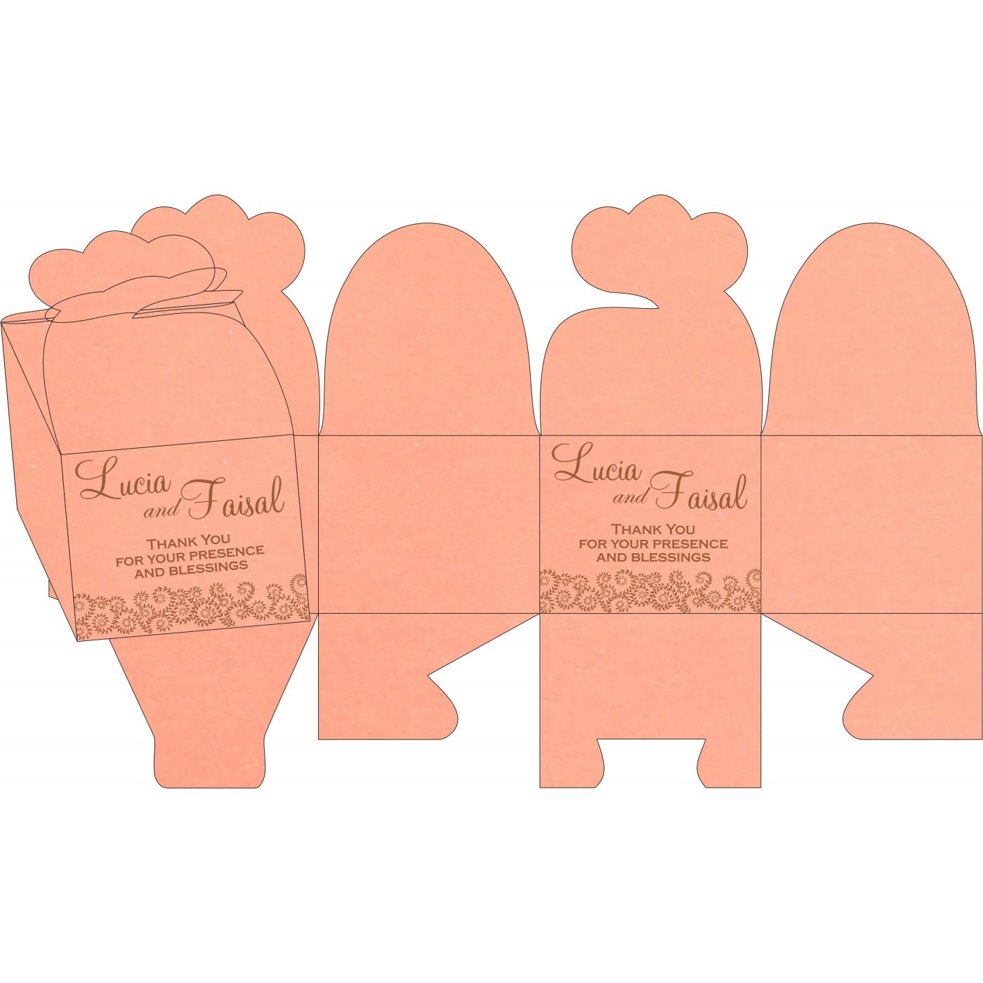 Sweet Boxes : CSB-8217N - IndianWeddingCards