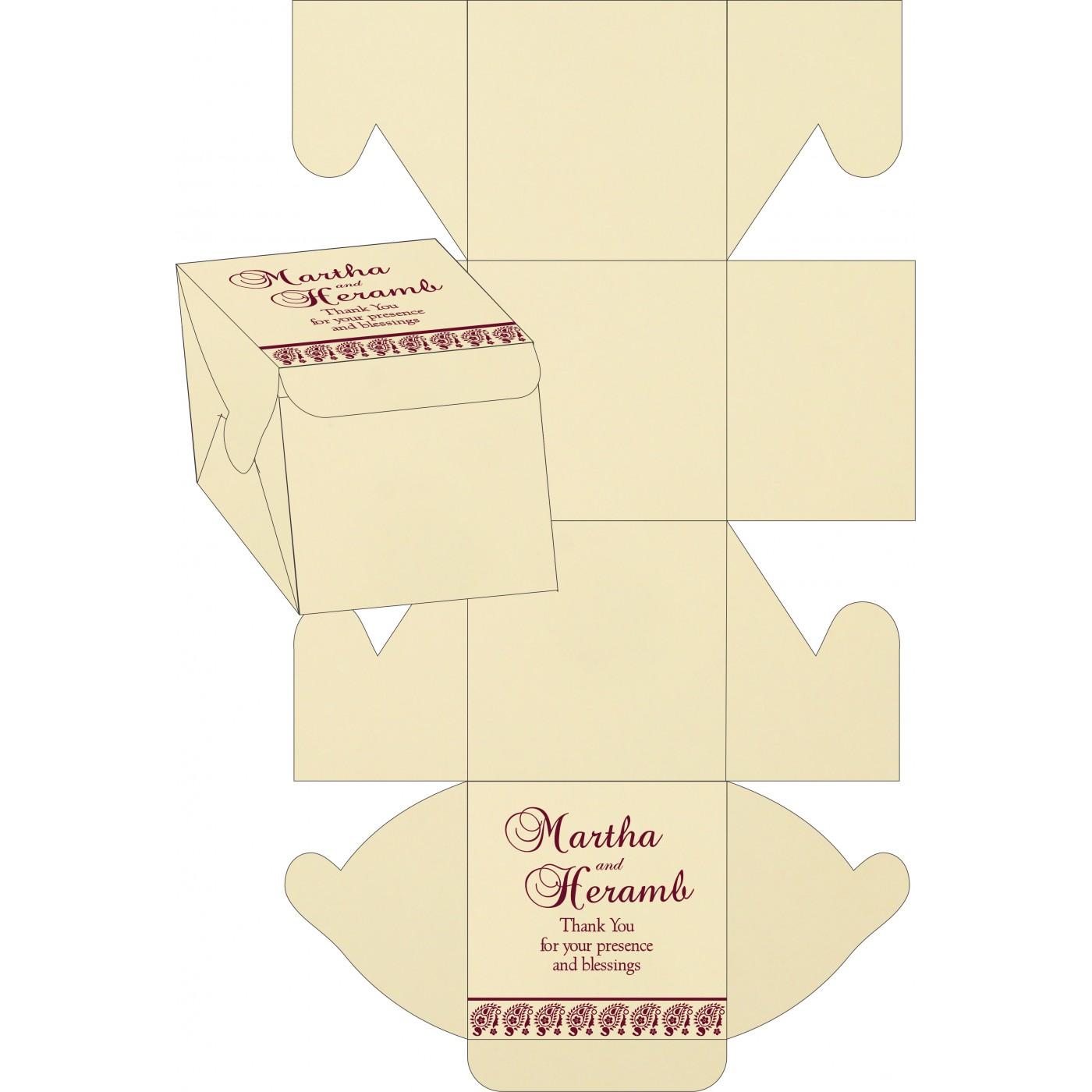 Sweet Boxes : CSB-8218N - IndianWeddingCards