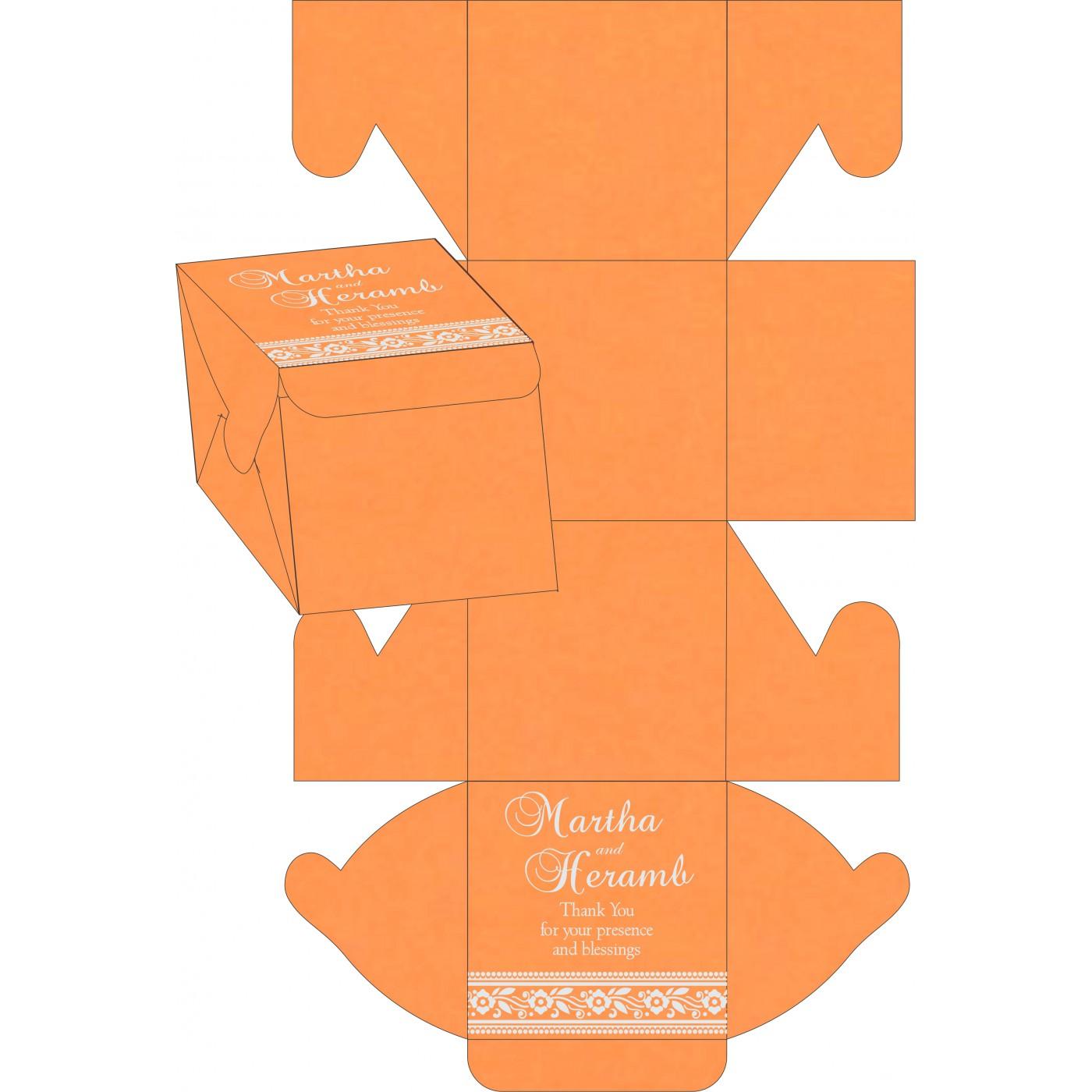 Sweet Boxes : CSB-8220F - IndianWeddingCards