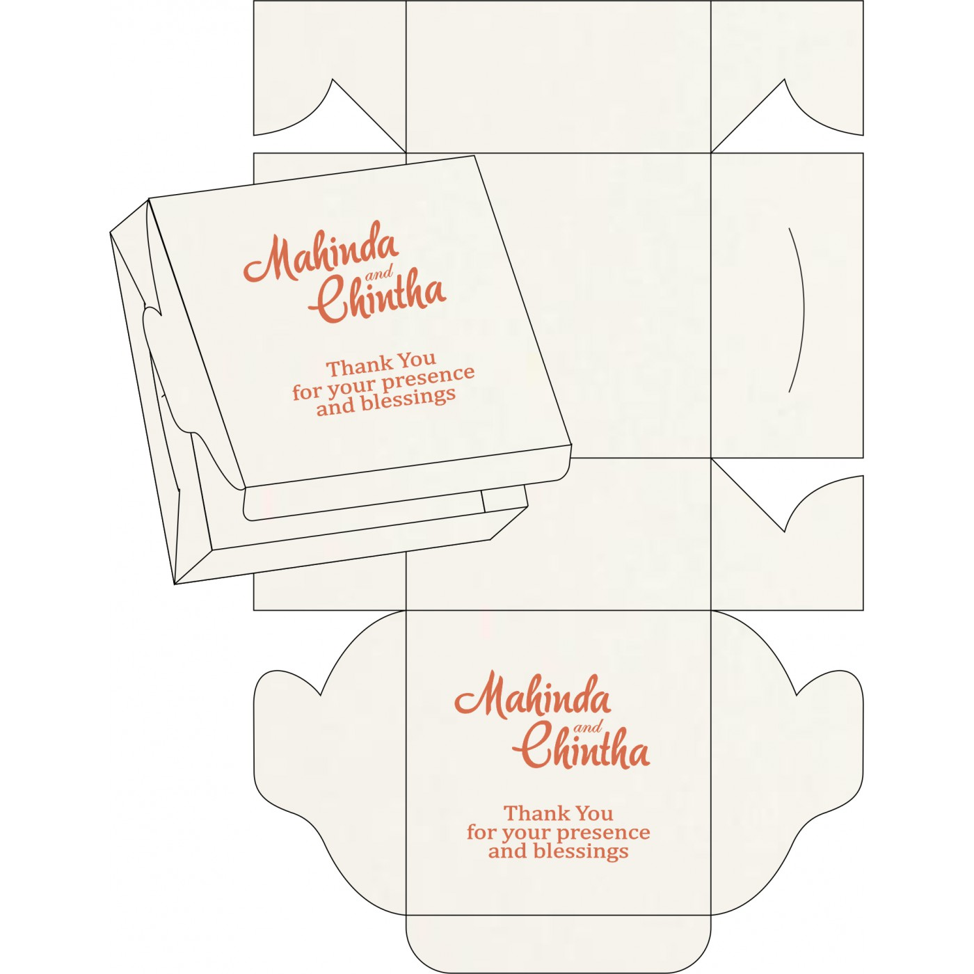 Sweet Boxes : CSB-8221L - IndianWeddingCards