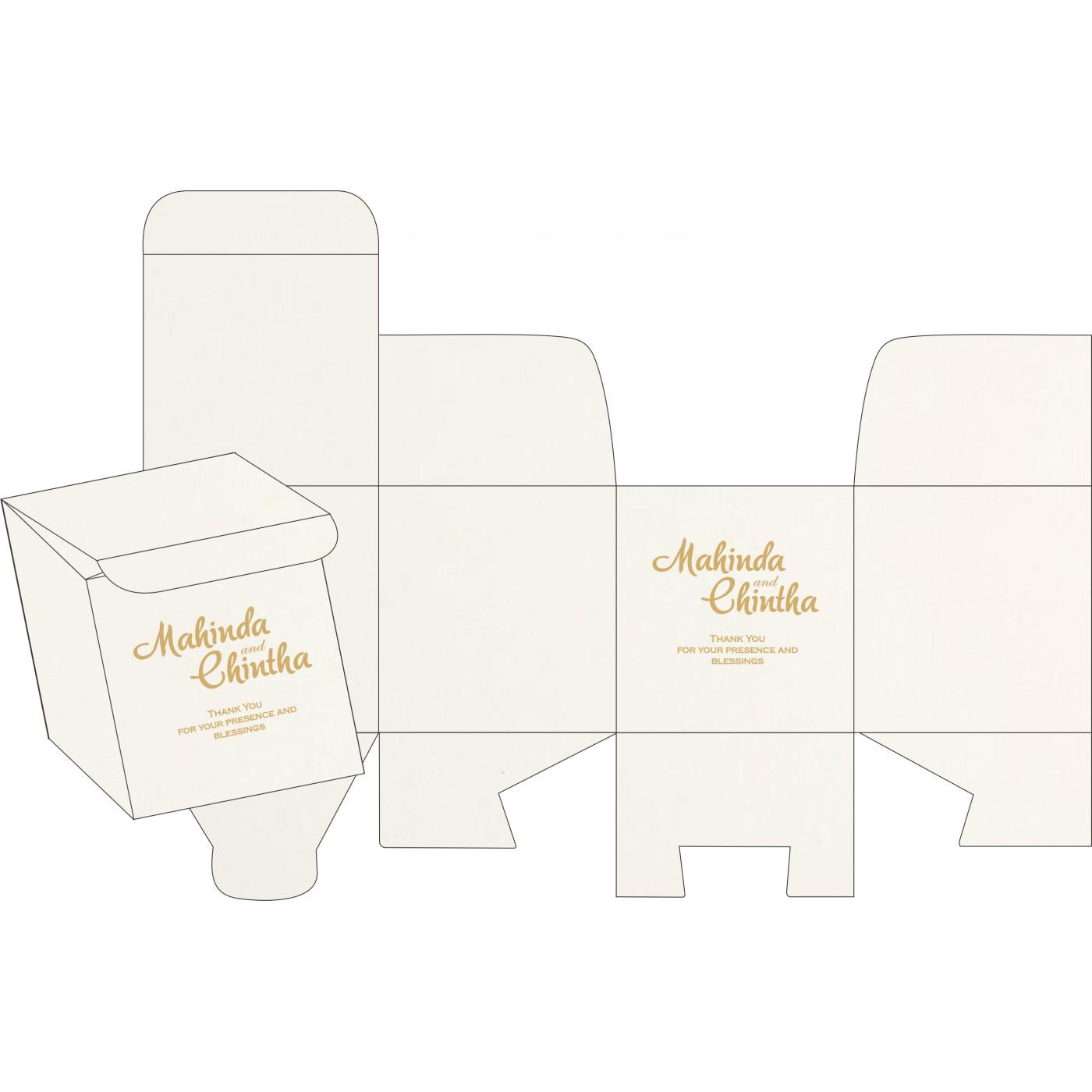 Sweet Boxes : CSB-8221P - IndianWeddingCards