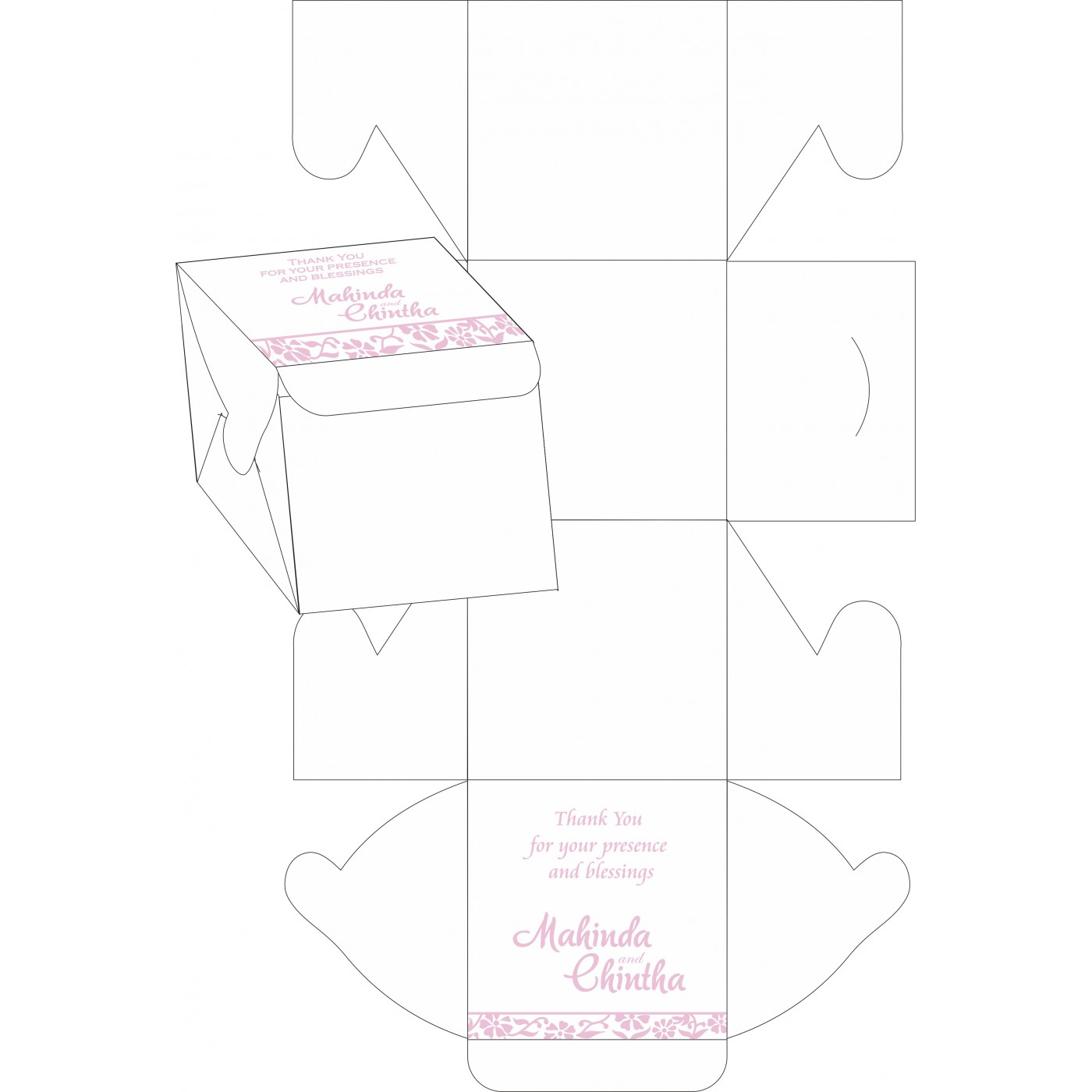 Sweet Boxes : CSB-8222N - IndianWeddingCards