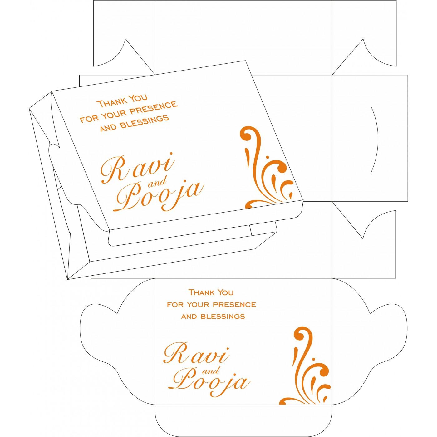 Sweet Boxes : CSB-8223K - IndianWeddingCards