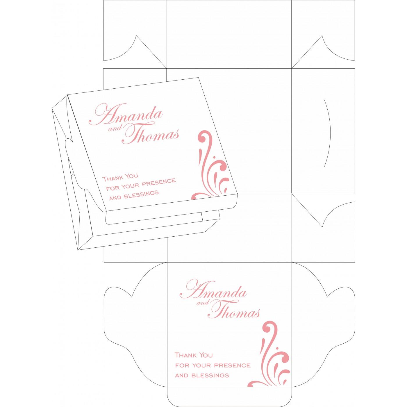 Sweet Boxes : CSB-8223N - IndianWeddingCards