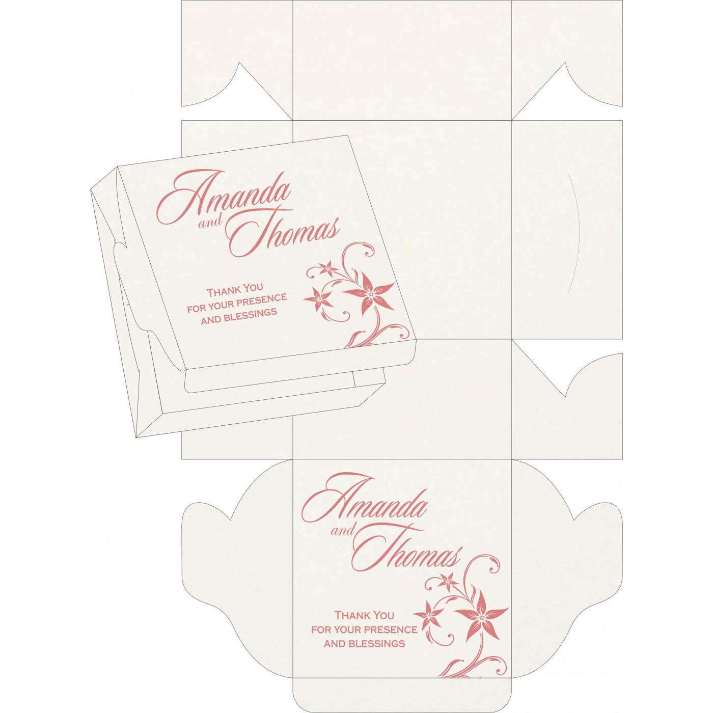 Sweet Boxes : CSB-8225M - IndianWeddingCards