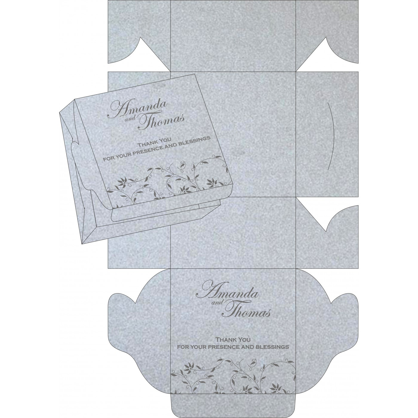 Sweet Boxes : CSB-8226A - IndianWeddingCards