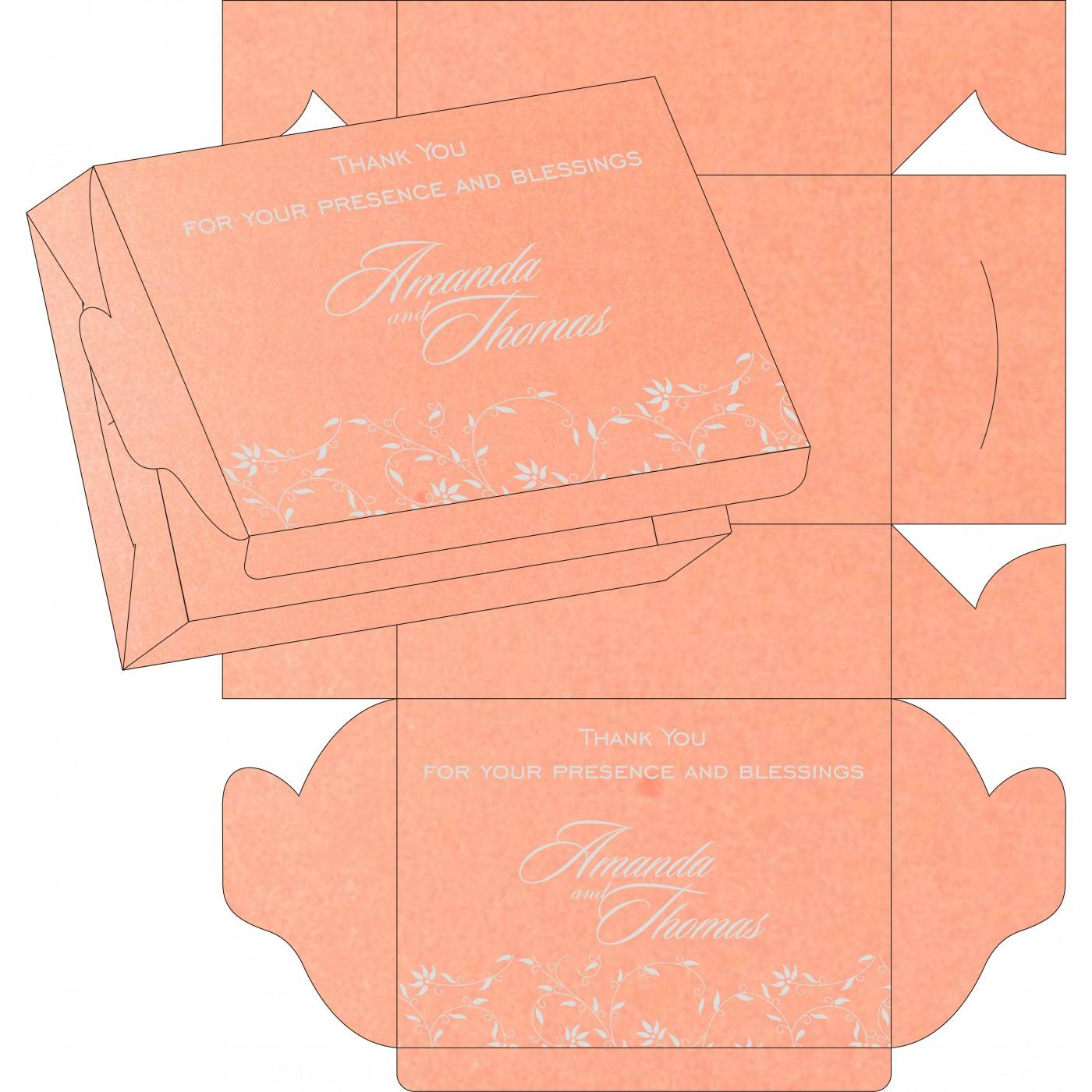 Sweet Boxes : CSB-8226B - IndianWeddingCards