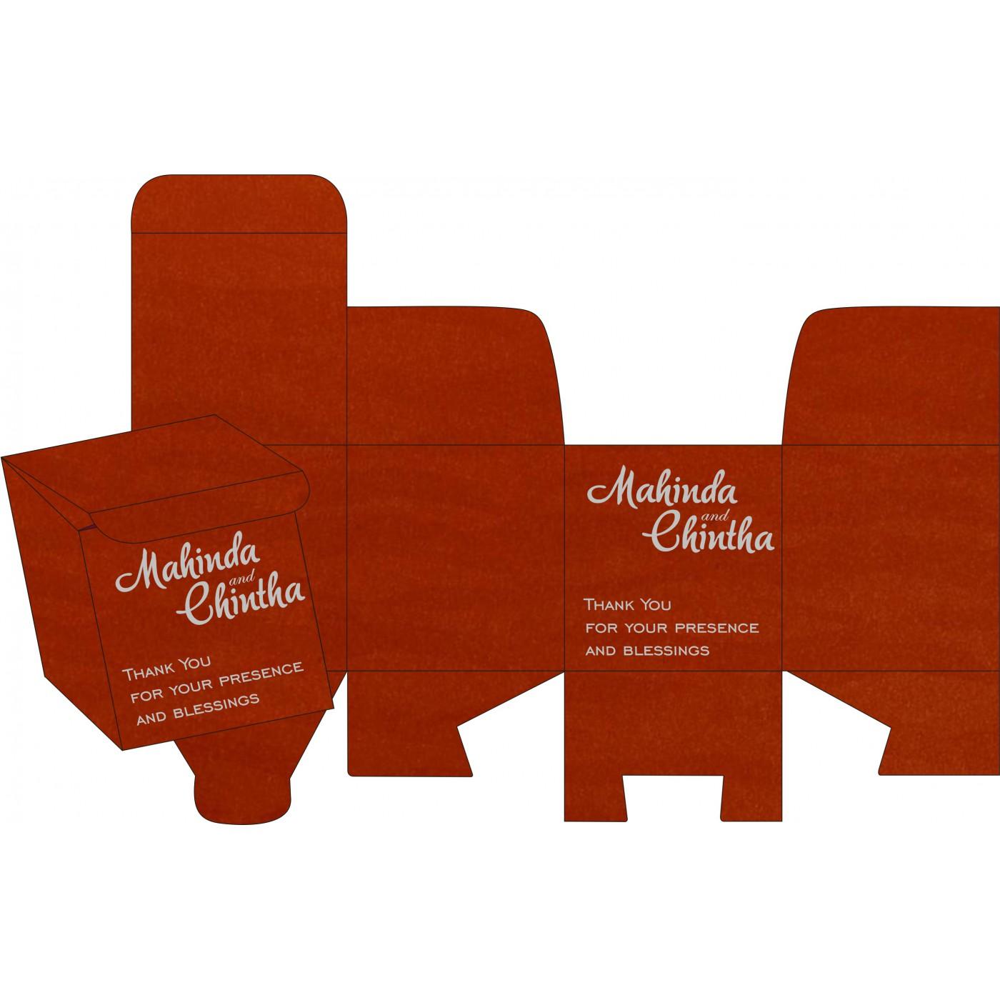 Sweet Boxes : CSB-8226I - IndianWeddingCards