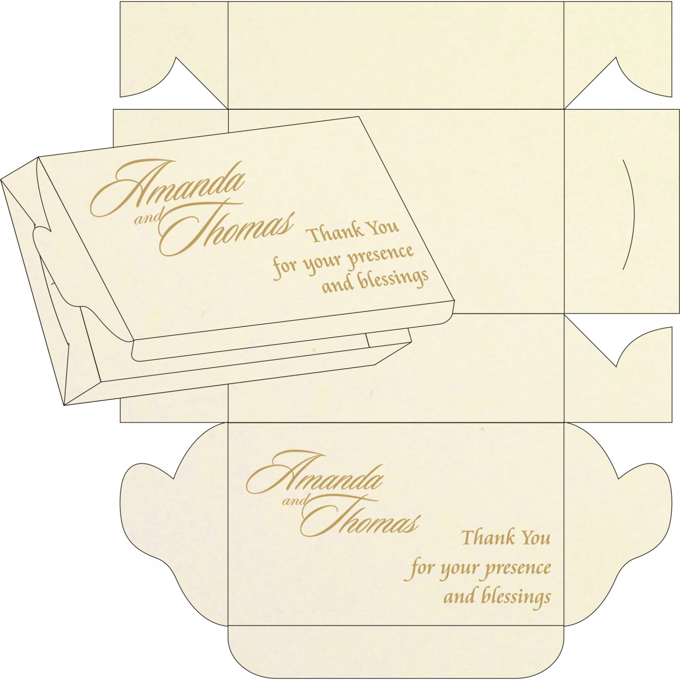 Sweet Boxes : CSB-8226L - IndianWeddingCards