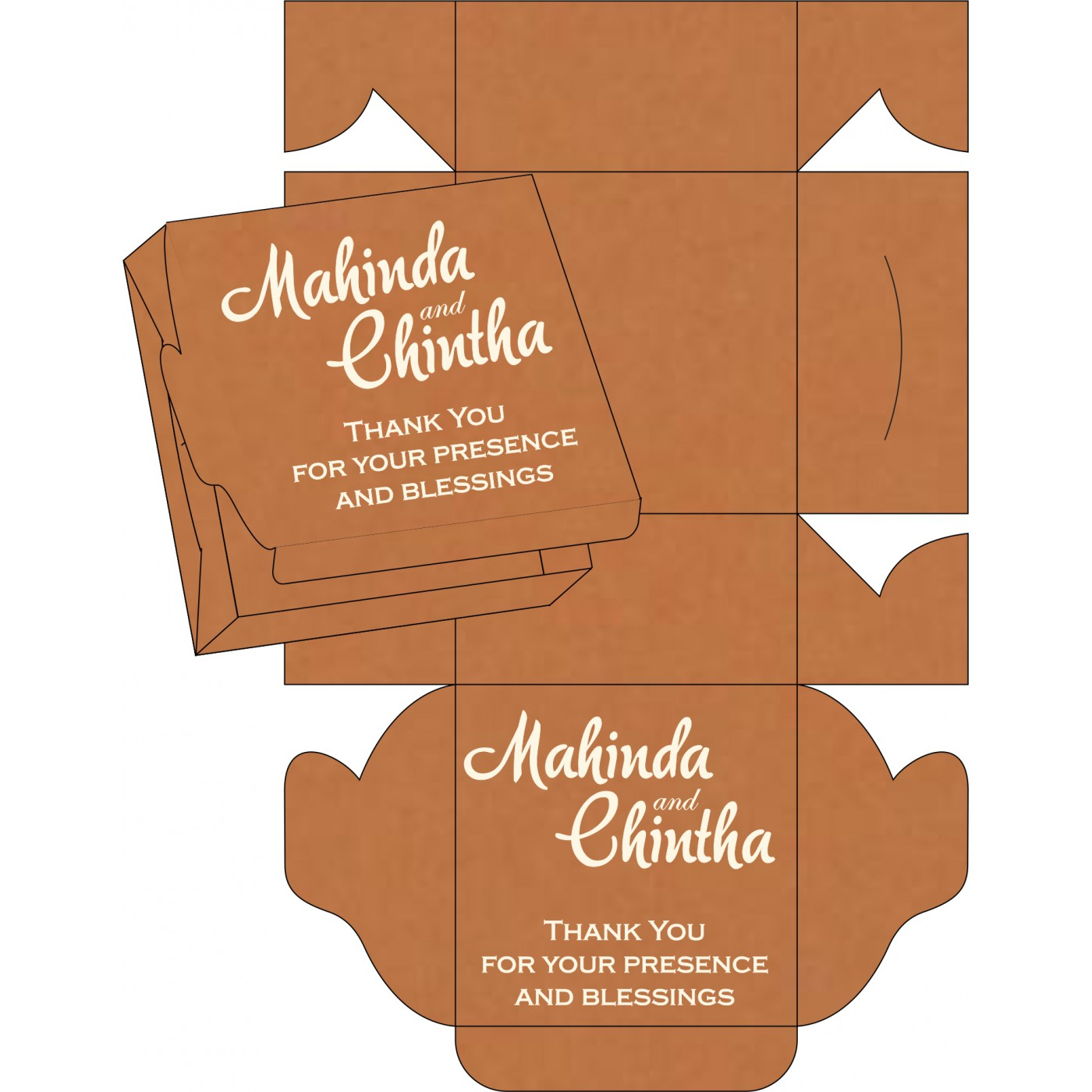Sweet Boxes : CSB-8227H - IndianWeddingCards