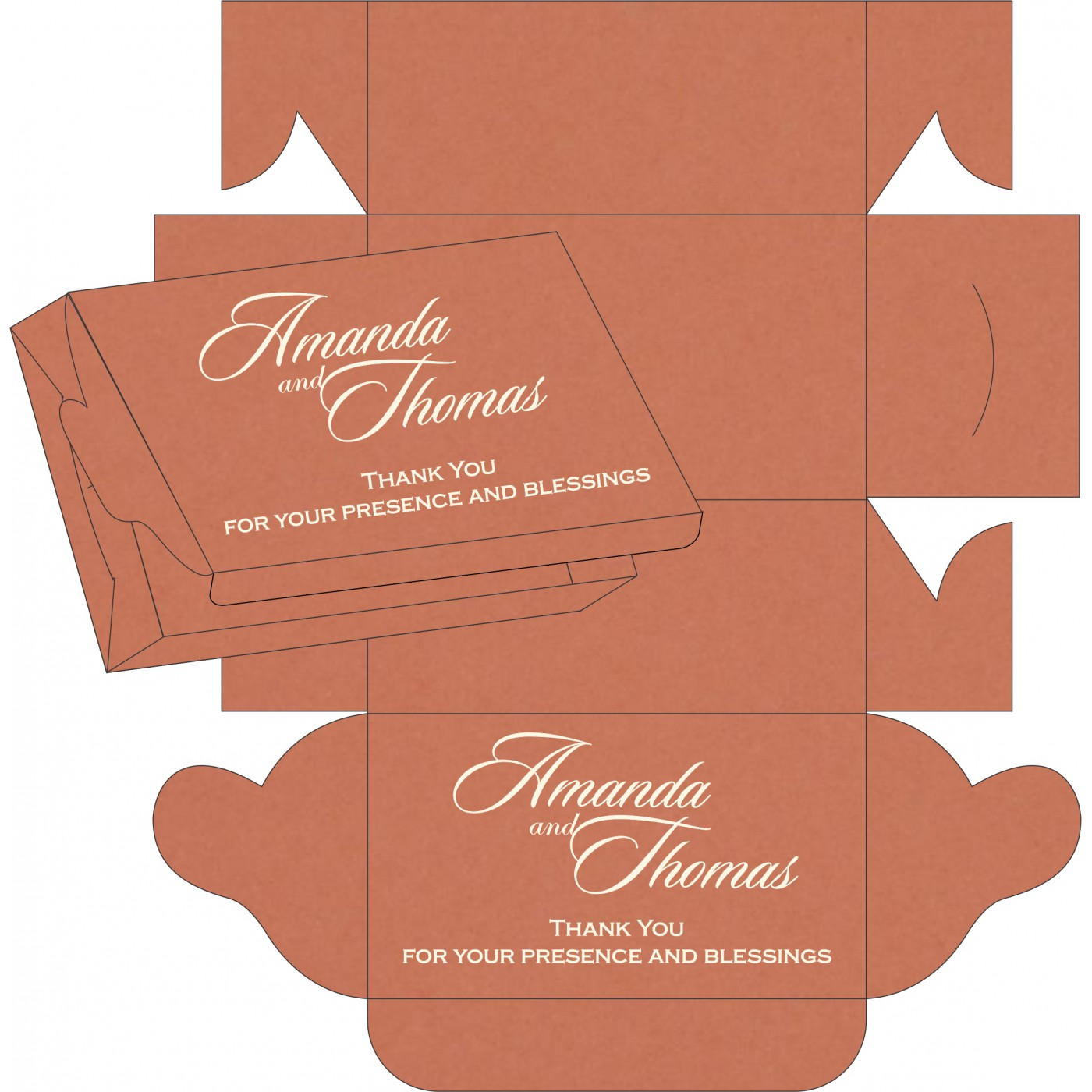 Sweet Boxes : CSB-8227L - IndianWeddingCards