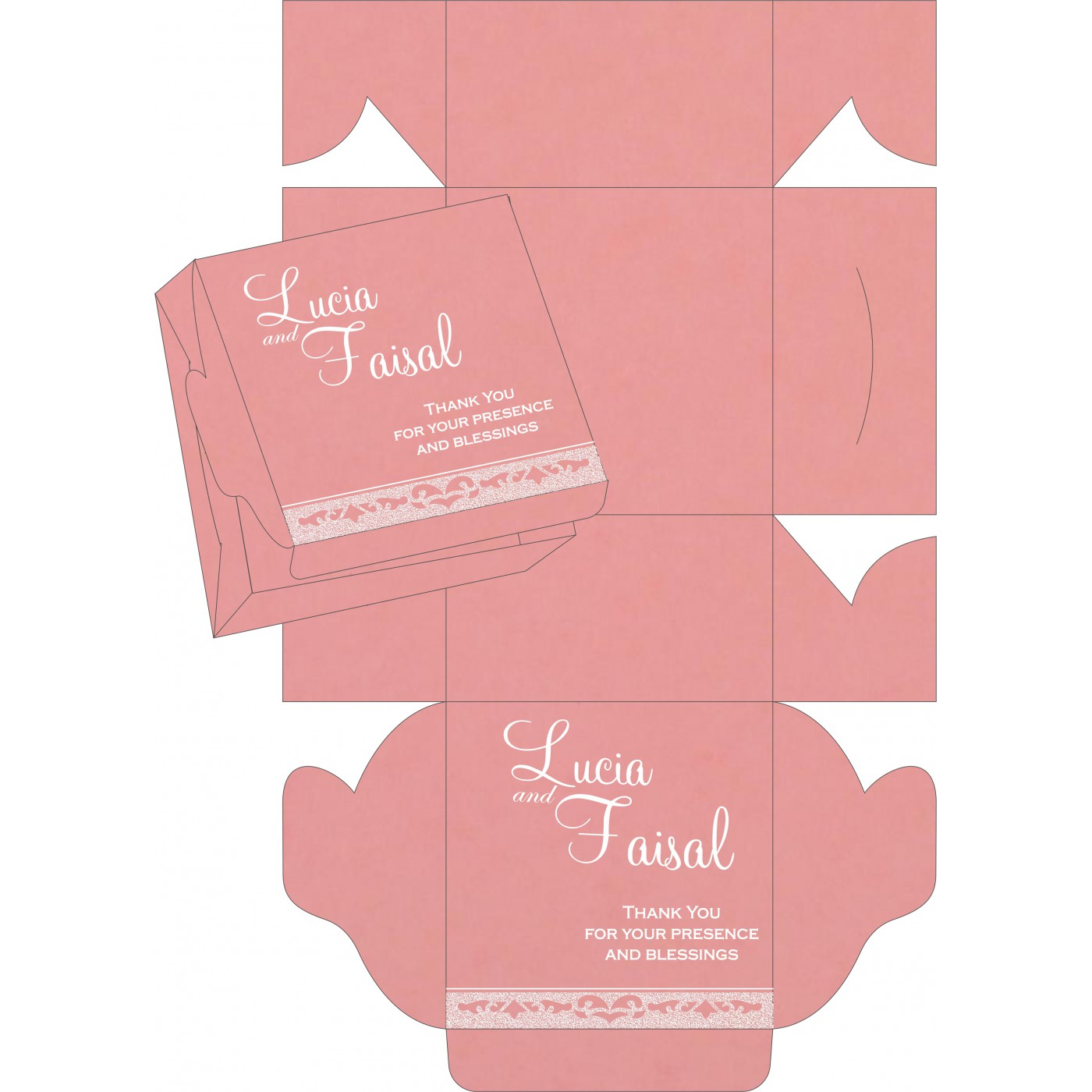 Sweet Boxes : CSB-8227M - IndianWeddingCards