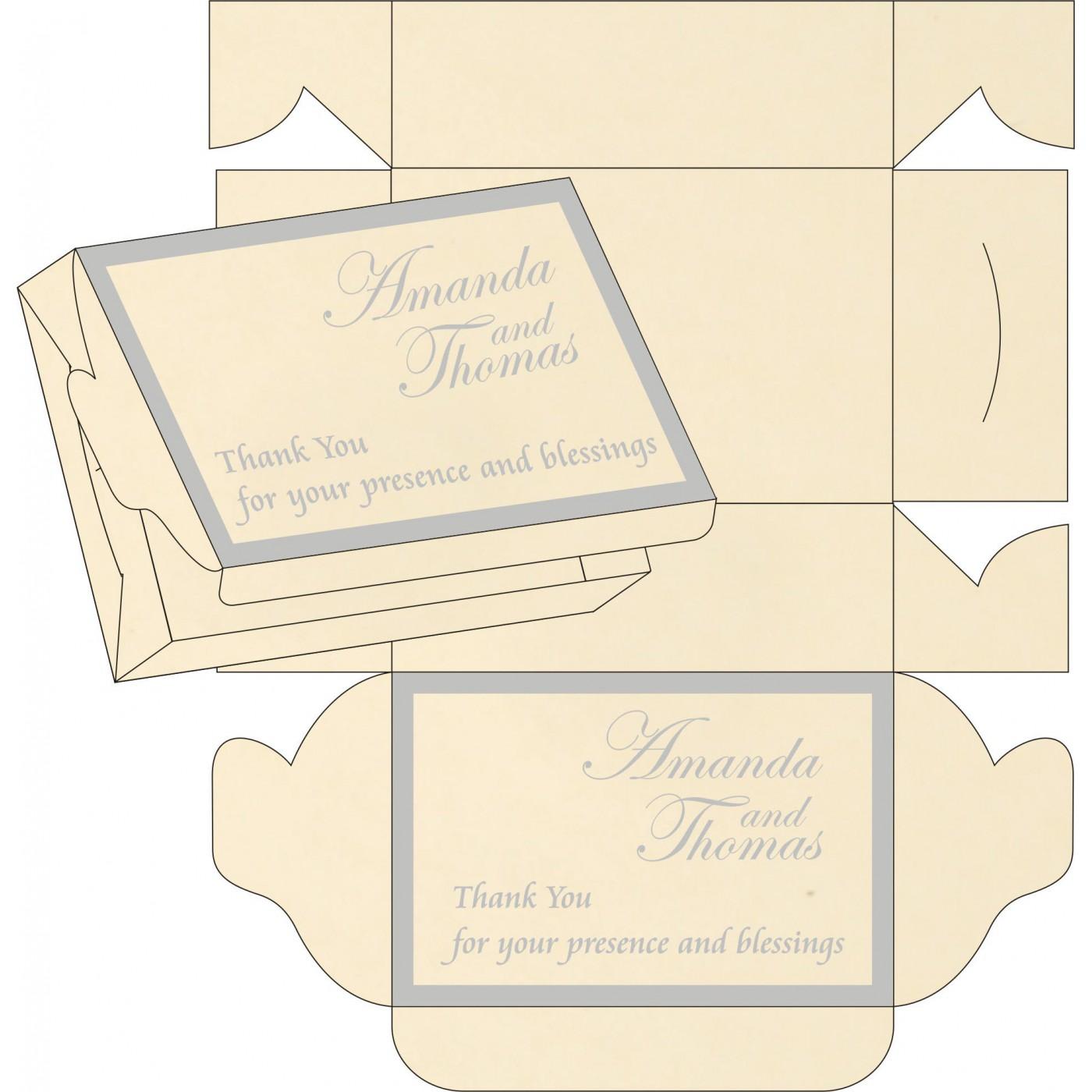 Sweet Boxes : CSB-8229I - IndianWeddingCards