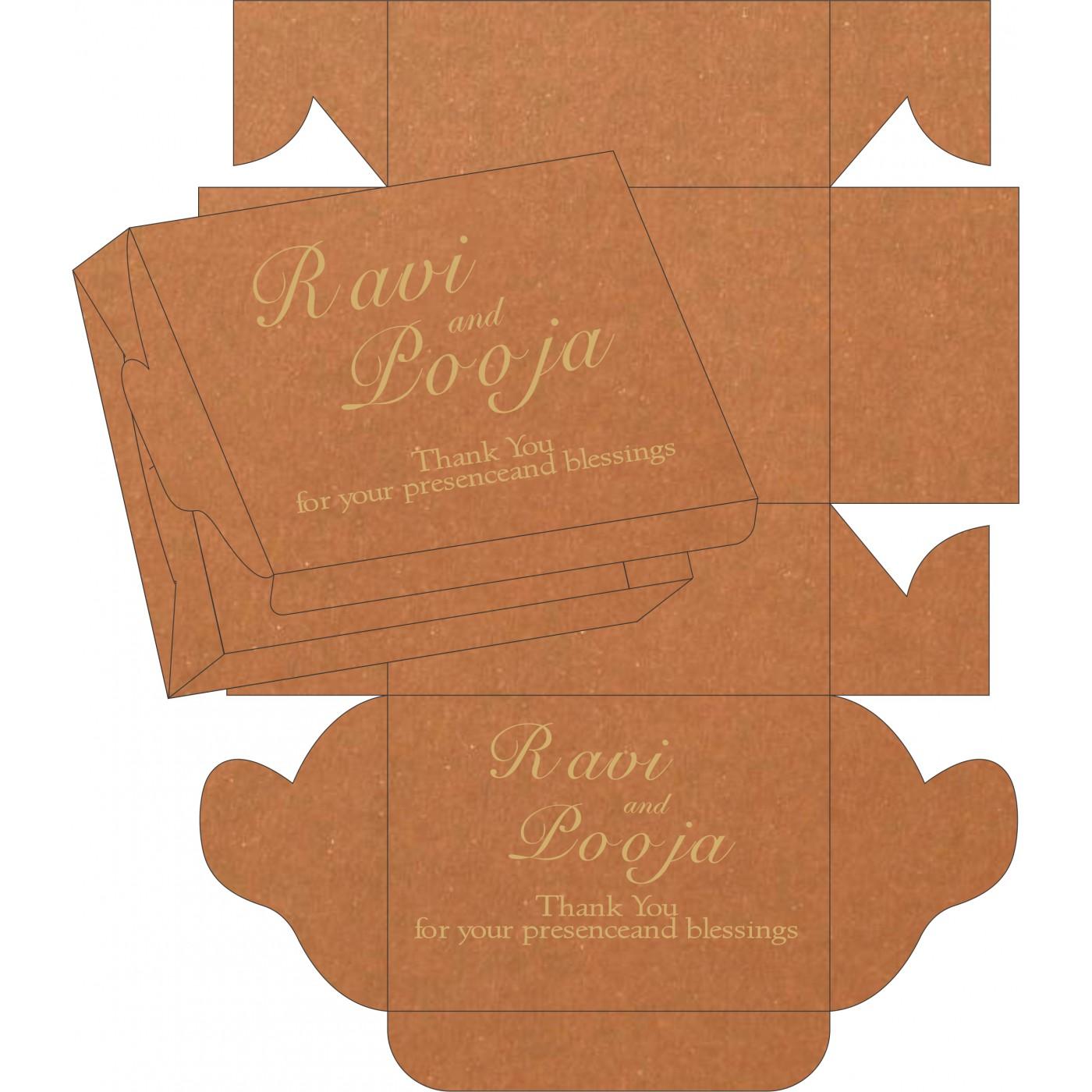 Sweet Boxes : CSB-8230Q - IndianWeddingCards