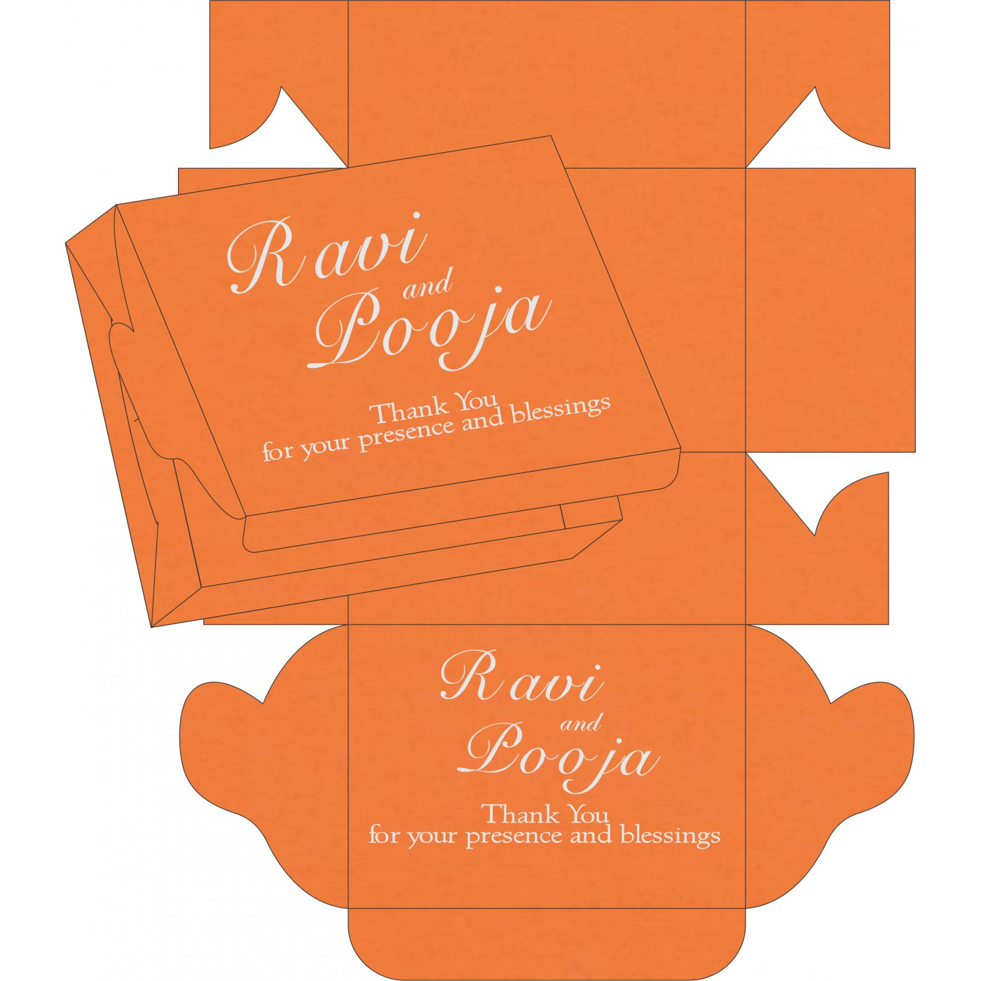 Sweet Boxes : CSB-8231N - IndianWeddingCards